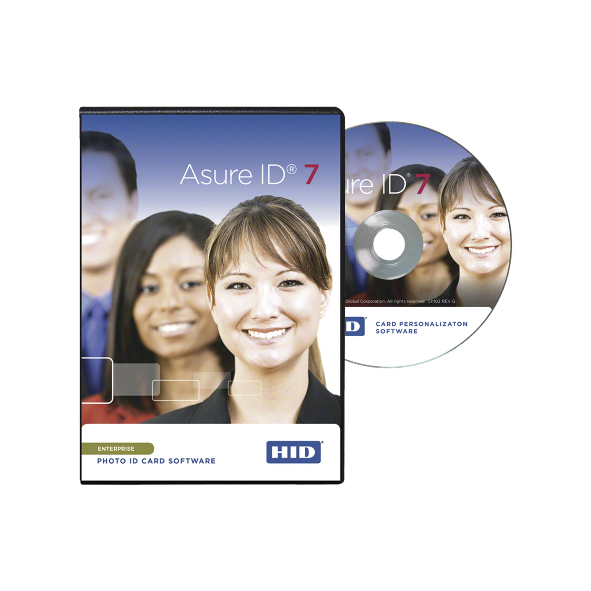 Software Asure ID versión ENTERPRISE / Compatible con impresoras HID / Para operar en una Red Corporativa