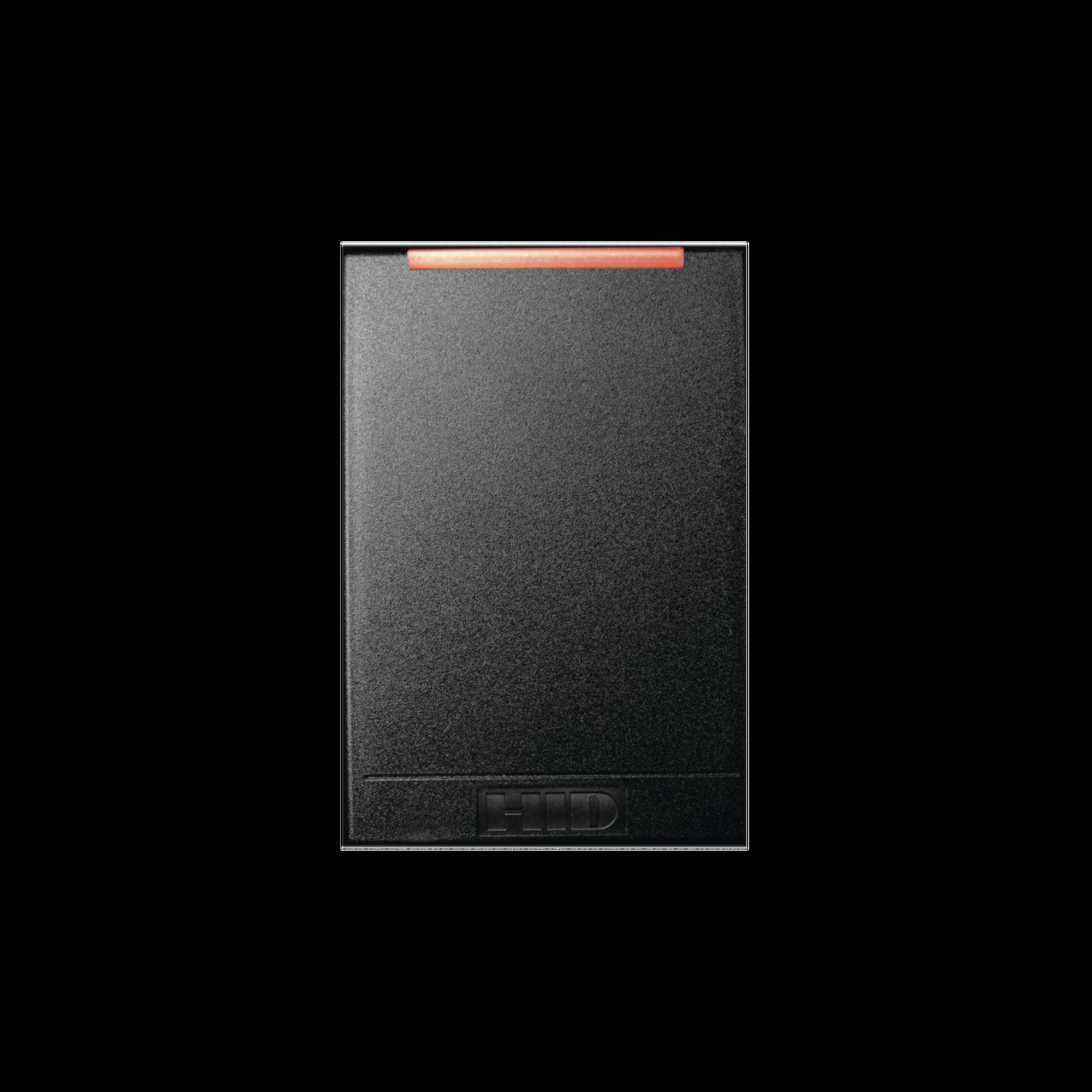 Lector R40 Multiformato/ Garantía de Por Vida/ CSN 34 BIts/ iCLASS Seos, iCLASS SE, iCLASS SR, iCLASS, MIFARE Classic (SIO),MIFARE DESFire EV1, Mobile IDs via NFC, ISO14443 UID.