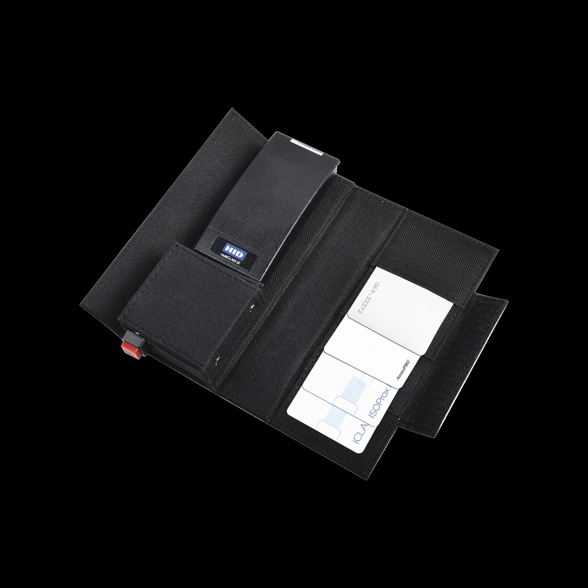 Kit DEMO HID / Incluye Lector Multiformato Bluetooth, Tarjetas PROX EM, HID, SEOS y Tarjeta Virtual MOBILEID