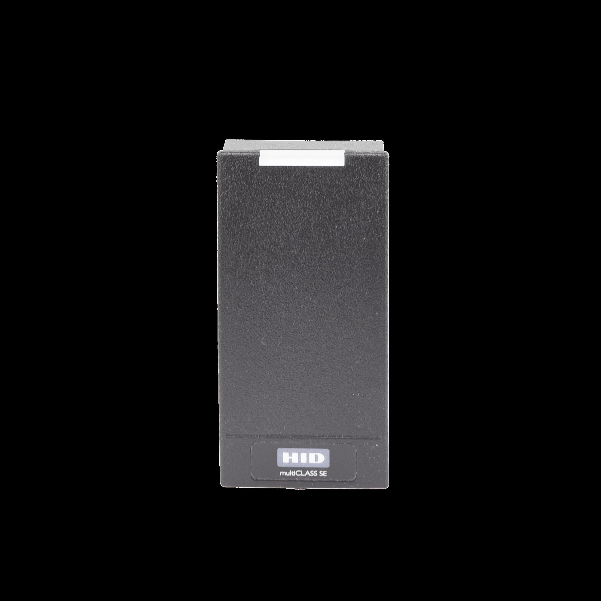 Lector HID R10 (900PMNTEKMA003) PROX HID, EM /iClass SEOS (no clonable) /iClass SE/ iClass SR/ iClass /Mifare Classic, DesFire, Bluetooth/ Garantía de por Vida