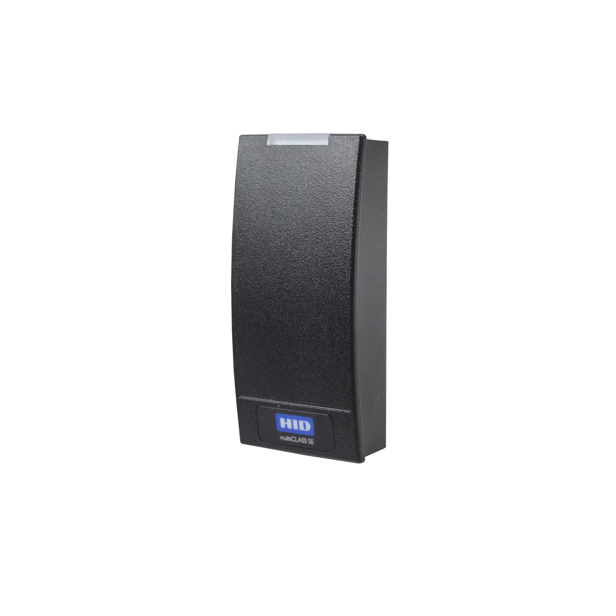Lector Multiformato HID R10 (900PTNNEK00000)/ SEOS (No Clonable)/iClass SE/ iClass SR/ iClass /Mifare Classic, DesFire, Proximidad, Garantia de por Vida