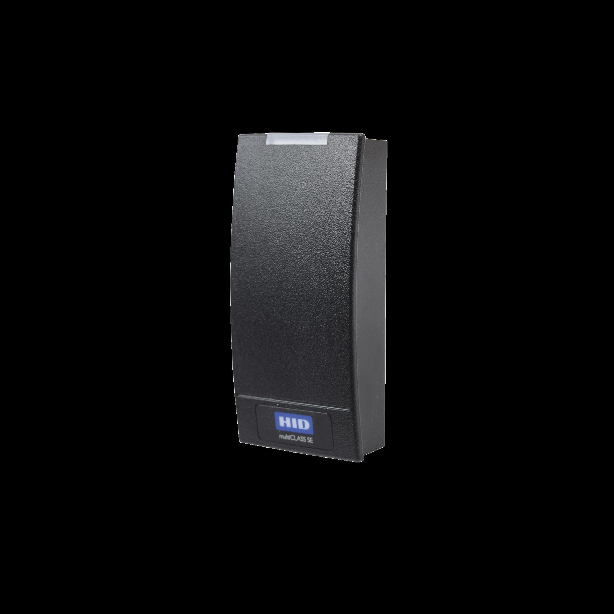 Lector HID R10 INDALA, iClass SEOS(no clonable)/iClass SE/ iClass SR/ iClass /Mifare Classic, DesFire / Garantia de por vida