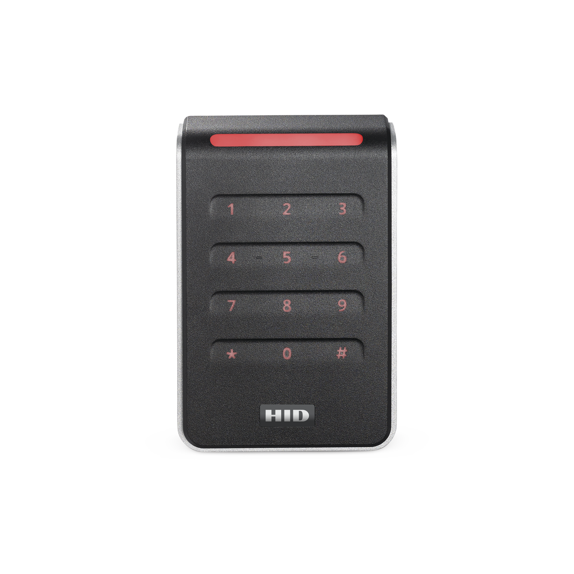 Lector con Teclado Capacitivo SIGNO R40 Multitecnologia/ 40KNKS-01-00001H/ Garantia de Por Vida/ Pigtail/Wiegand & OSDP/Mullion