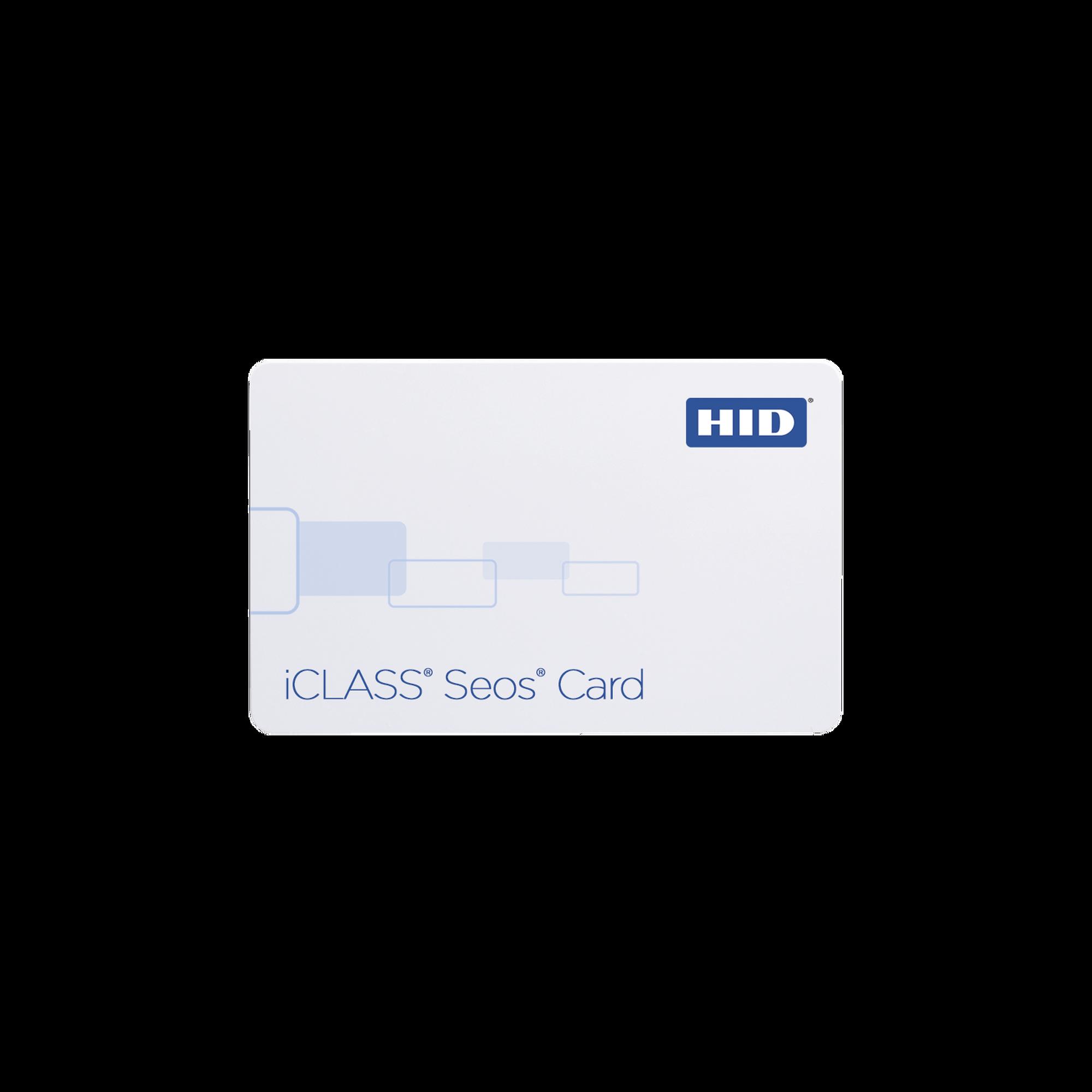 Tarjeta iCLASS SEOS 8KB (5006PGGMN) /Tecnología SEGURA, NO Clonable) / Garantía de por Vida/ 26 bits