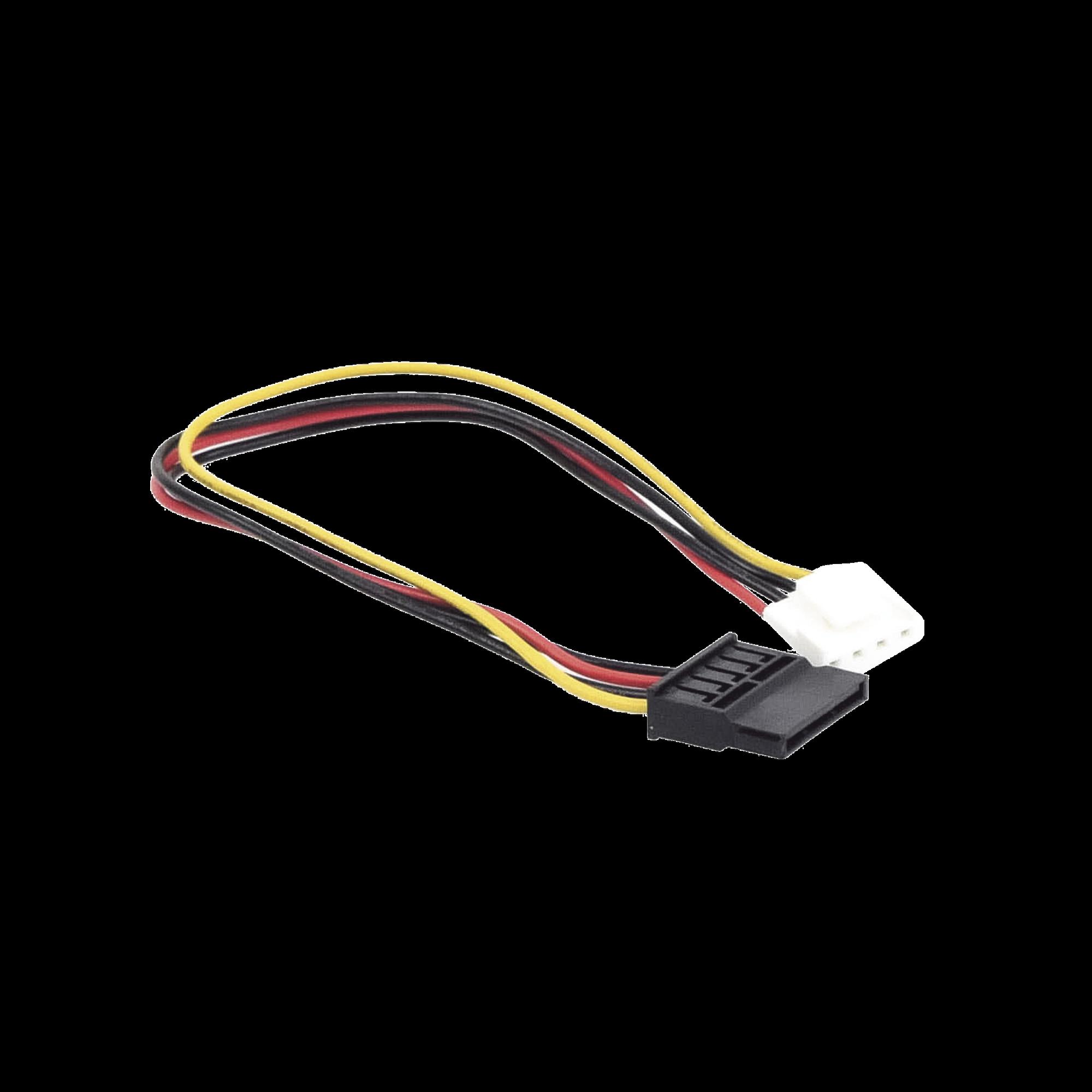 Cable de Corriente Simple SATA / HI 4 Sata  / F,0.4 m para DVR epcom y HIKVISION