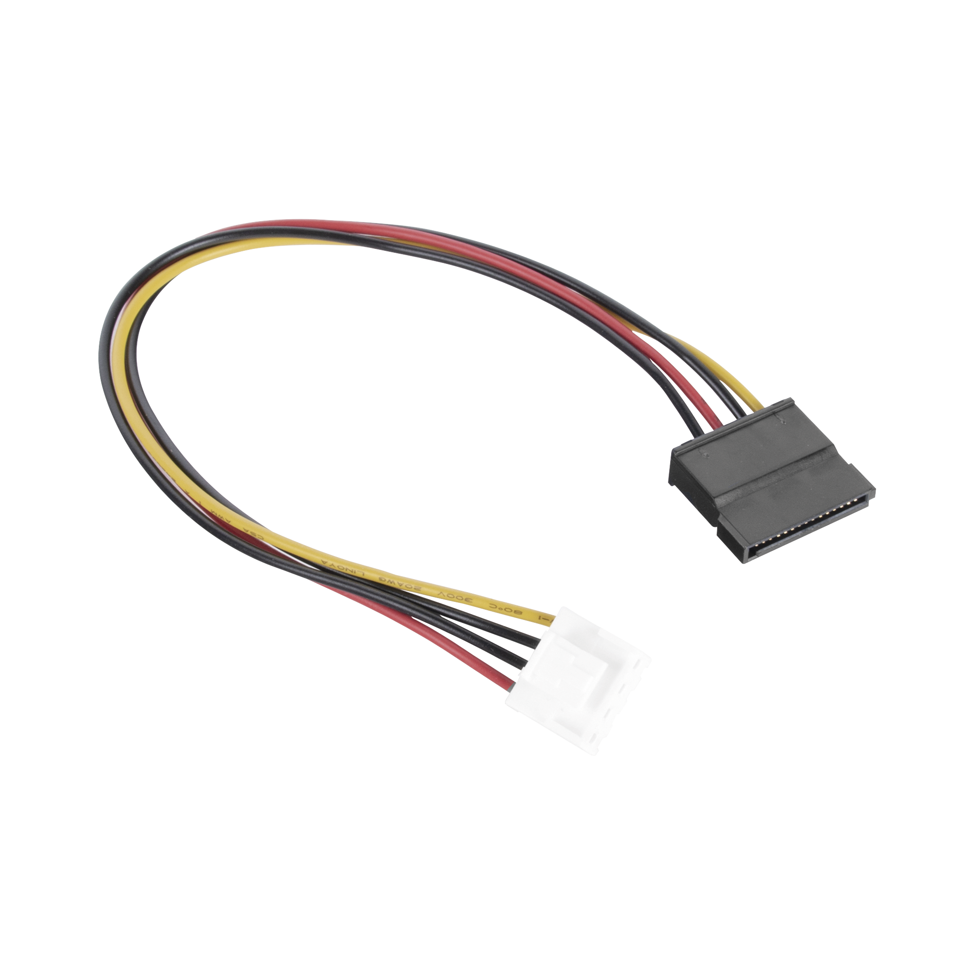 Cable de Corriente SATA / Compatible con DVRs epcom / HIKVISION