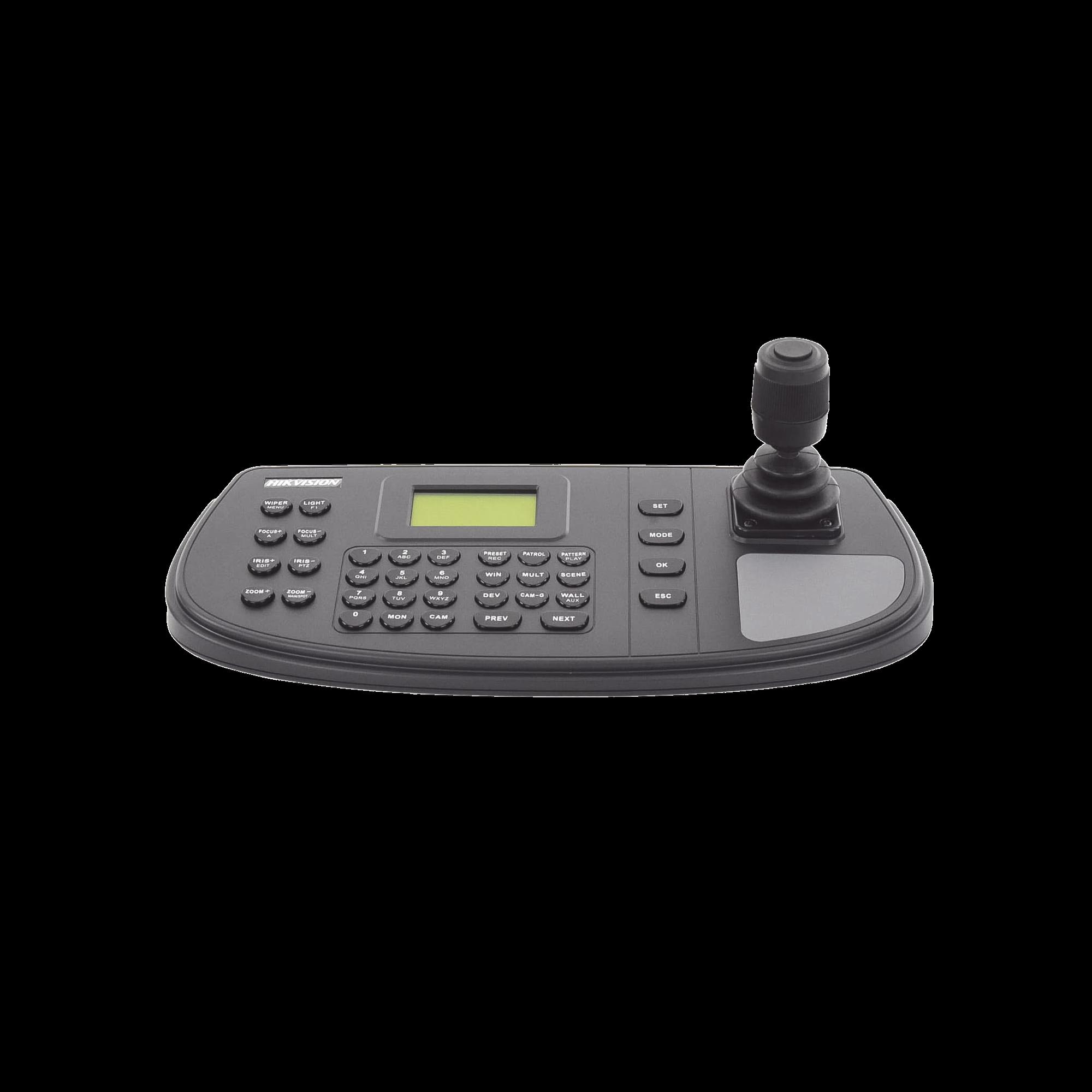 Controlador Analógico para DVR`s, Domos PTZ TURBO y Analogicos  y PTZ epcom/HIKVISION por RS485
