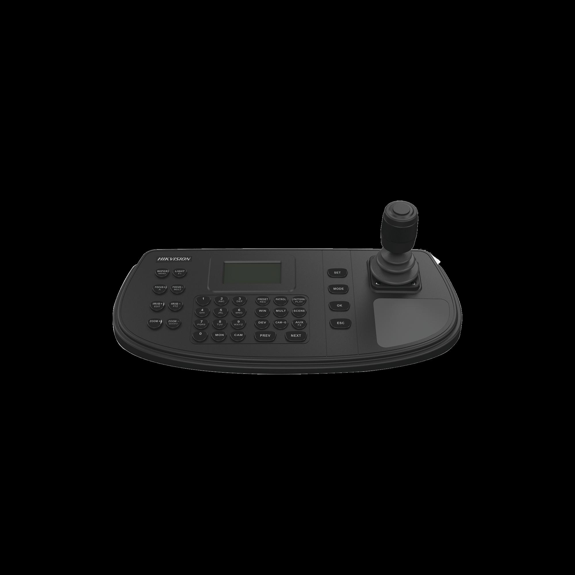 Controlador IP para DVR, NVR y PTZ a través de red / Soporta RS-485 / Compatible con epcom y HIKVISION