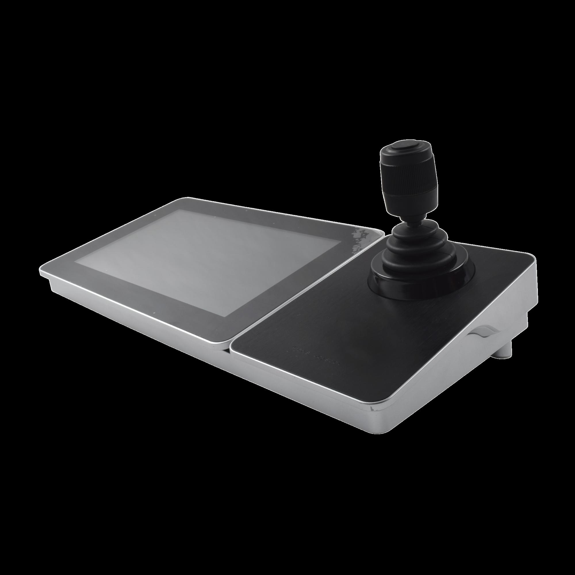 Controlador IP (Joystick) con Pantalla Táctil de 10.1 / S.O. Android ver. 4.4 / Compatible con cámaras IP, Domos IP / PTZ IP / DVRs y NVRs epcom, HiLook y HIKVISION