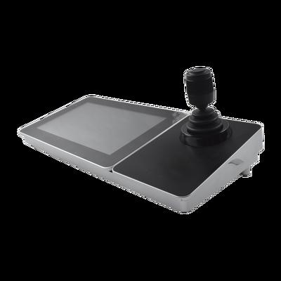 """Controlador IP (Joystick) con Pantalla Táctil de 10.1"""" / S.O. Android ver. 4.4 / Compatible con cámaras IP, Domos IP / PTZ IP / DVRs y NVRs epcom, HiLook y HIKVISION"""