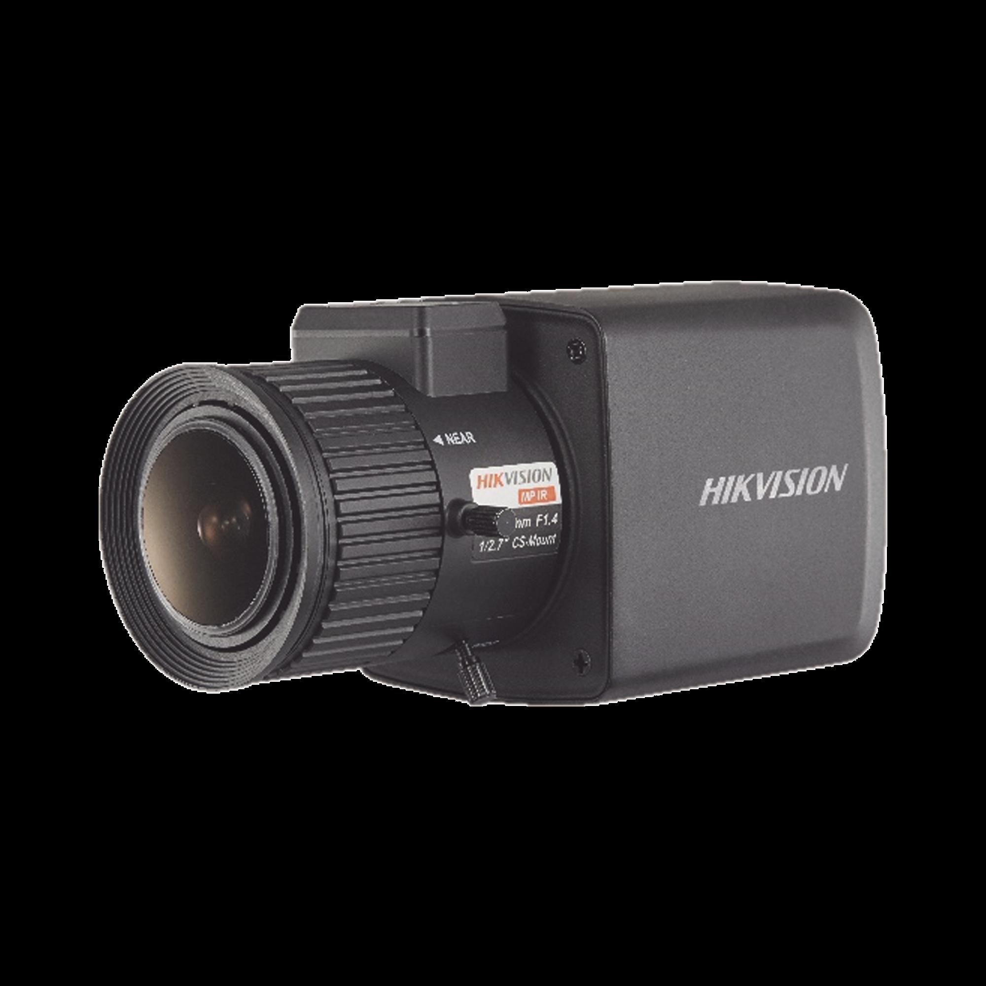 Cámara Tipo Box (Profesional) TURBOHD 2 Megapixel (1080p) / Diseño Compacto / Ultra Baja Iluminación / WDR Real 120 dB / 4 Tecnologías (TVI / AHD / CVI / CVBS) / 12 VCD