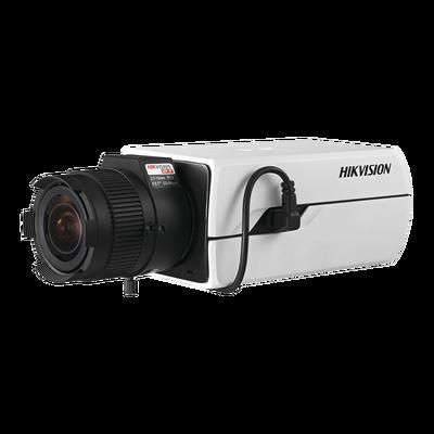 Cámara Tipo Box (Profesional) TURBOHD 2 Megapixel (1080p) / WDR Real 120 dB / Menu OSD / Día-Noche / 3D-DNR / BLC / Defog