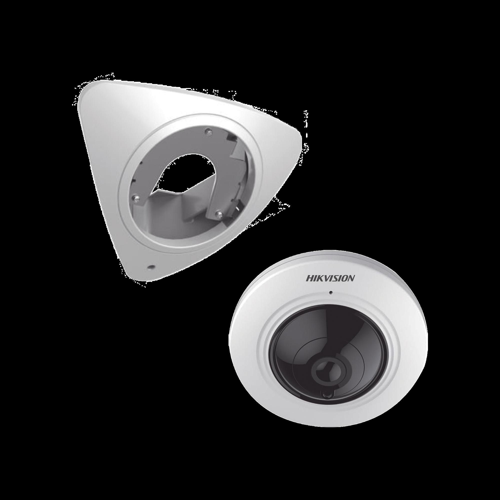 (Incluye Montaje de Esquina) Panorámica TURBOHD 5 Megapixel / 20 mts IR / Micrófono Integrado / Interior / Múltiples Vistas Adicionales / 180? / 360?