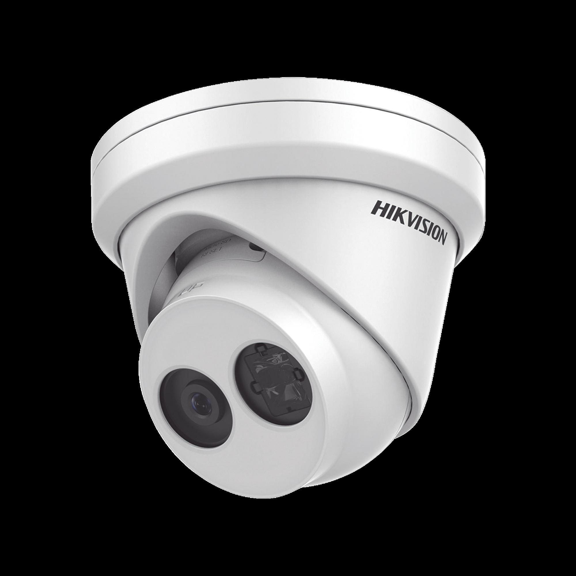 Turret IP 6 Megapixel / 30 mts IR EXIR / Exterior IP67 / WDR 120 dB / PoE / Lente 2.8 mm / Videoanaliticos Integrados