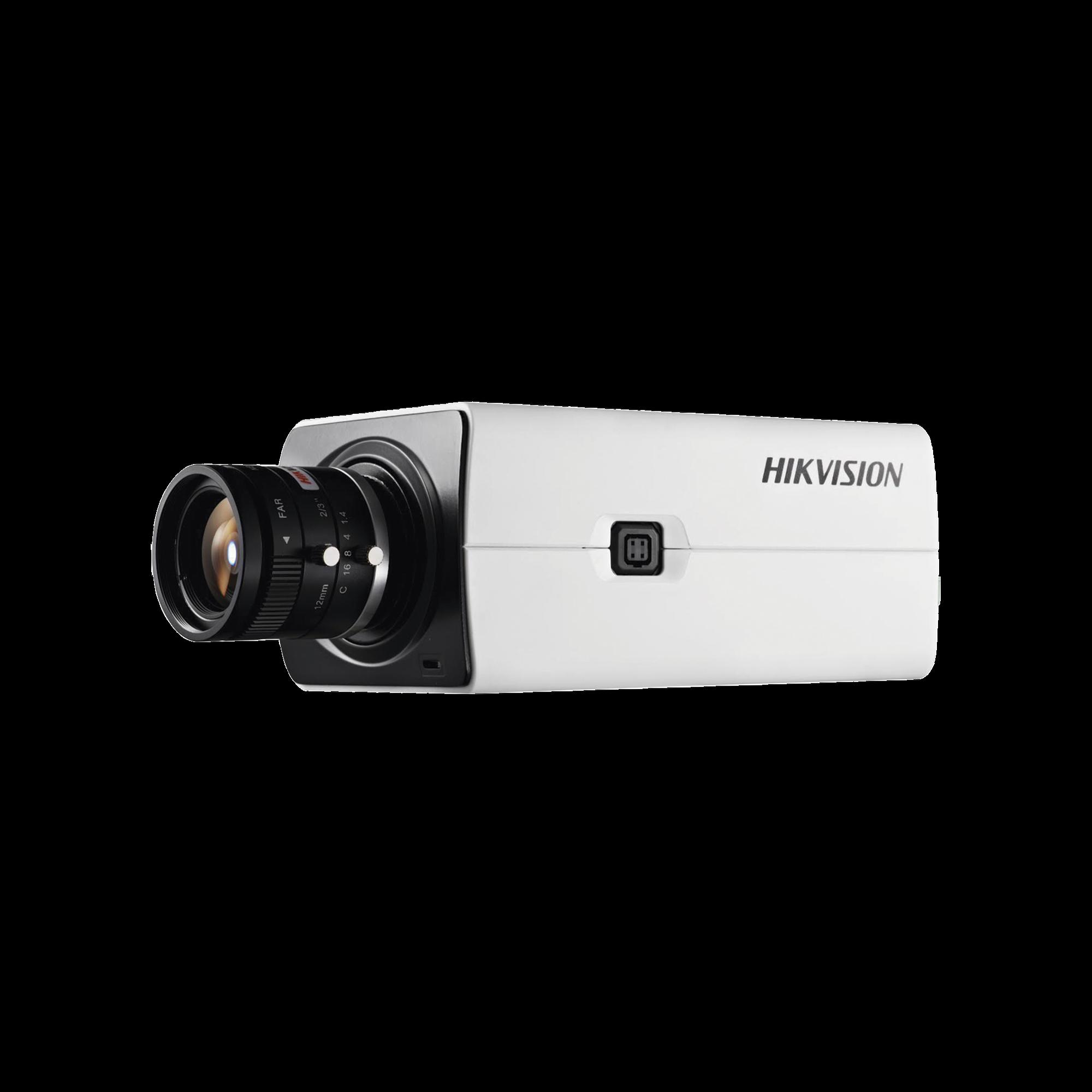 Camara Box IP 2 Megapixel / Serie PRO / Ultra Baja Iluminacion / PoE / 12 VCD / WDR 120 dB / Micro SD / Onvif
