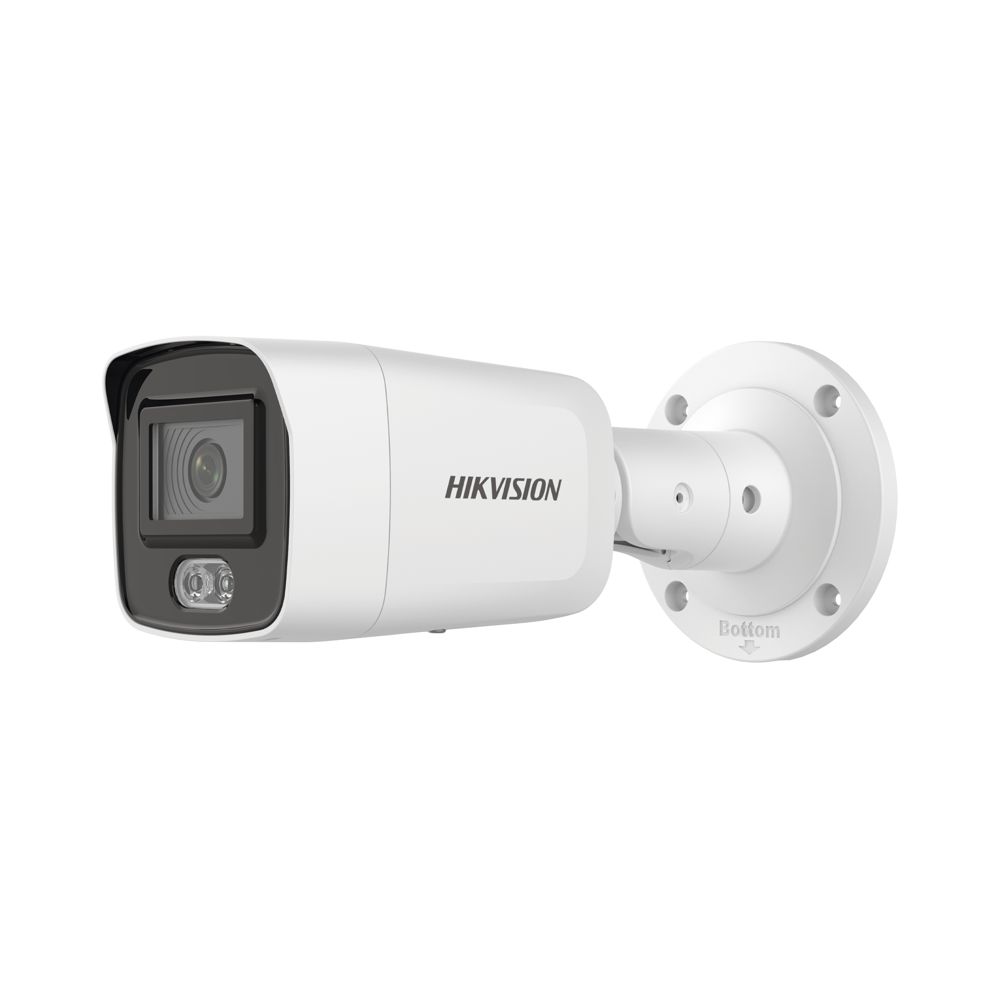 Bala IP 4 Megapixel / Imagen a color 24/7 / Lente 4 mm / Luz Blanca 40 mts / Exterior IP67 / WDR 120 dB / Audio y Alarma / Captura Facial