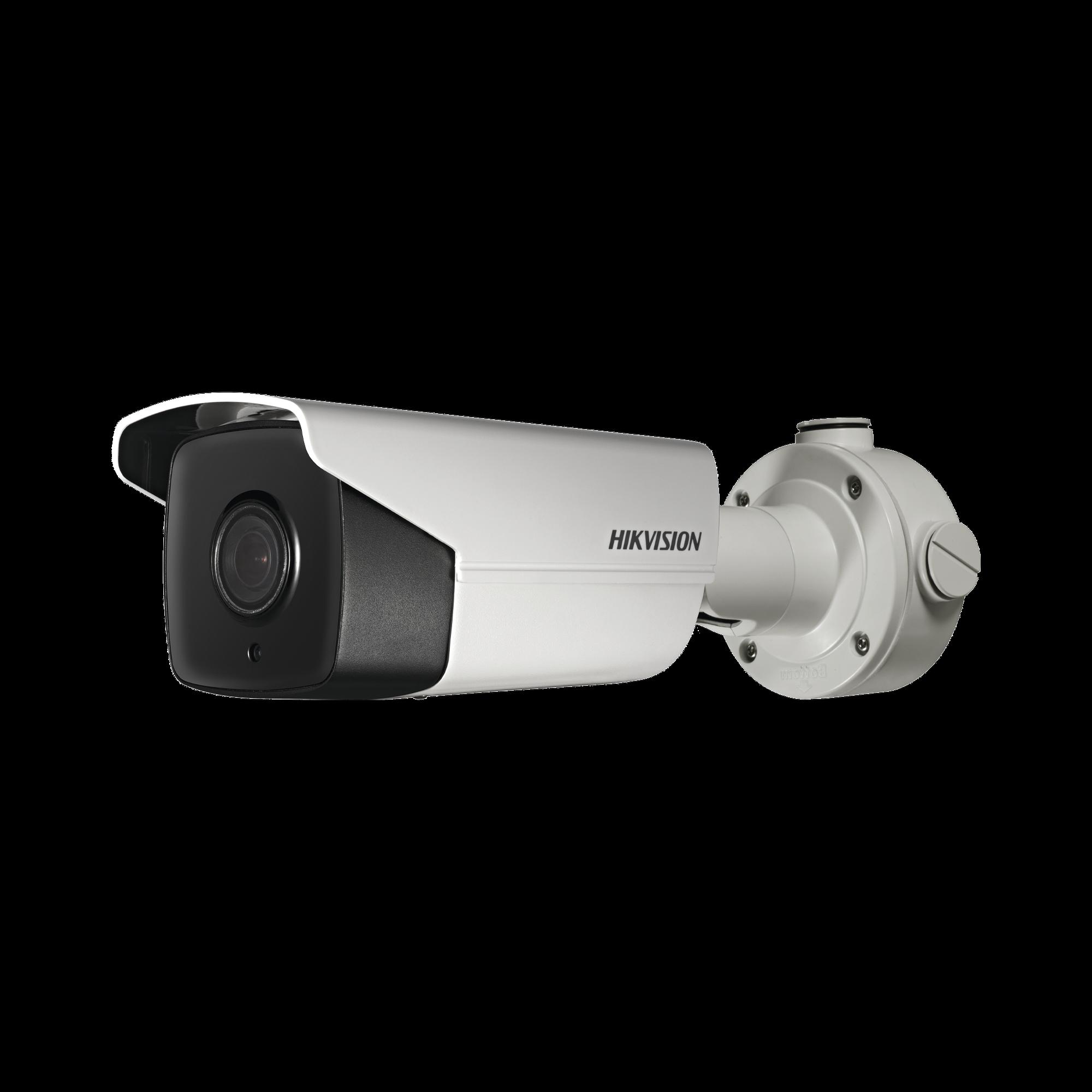 Bala IP 4 Megapixel / 20X Zoom óptico / 150 mts IR EXIR / IP67 / Conteo Objetos / Detección Rostros / EIS / H.265+ / WDR 105dB / PoE+ / MicroSD