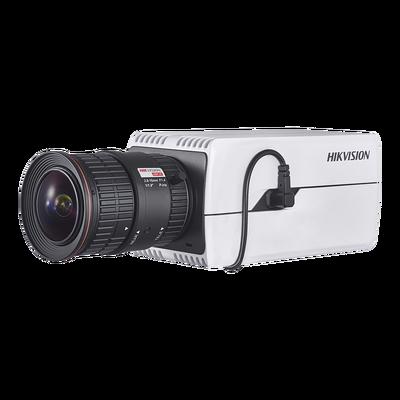 Cámara Box IP 8 Megapixel (4K) / Detección de Rostros / Dia-Noche / H.265+ / Onvif / Conteo de Objetos / PoE / Entrada y Salida de Audio y Alarma