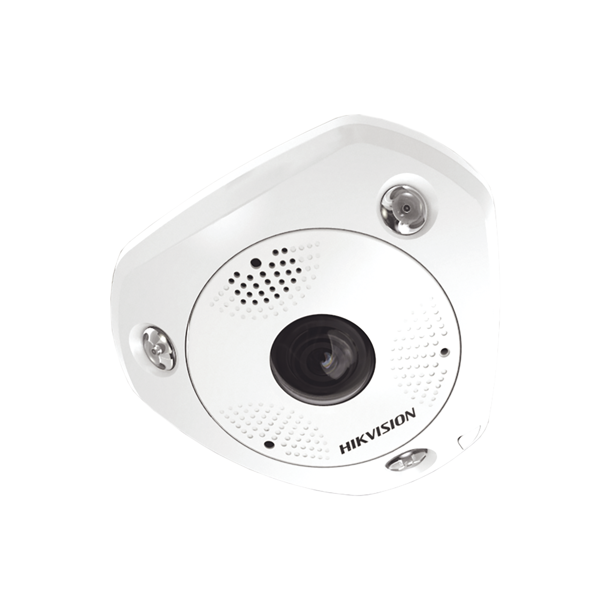 Fisheye IP 12 Megapixel / DEWARPING / Lente IMMERVISION / 180? - 360? / WDR 120 dB / Heat Map / Exterior IP67 / IK08 / Entrada y Salida de Audio y Alarma / Múltiples Vistas