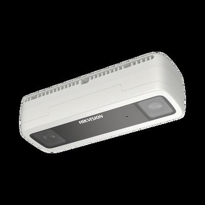 Cámara IP Dual 2 Megapixel / Lente 2 mm / Conteo de Personas / PoE / Exterior IP67 / 6 mts IR / Ultra Baja Iluminación / Conteo de Aforo