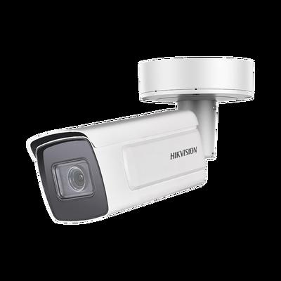 Deepin View Series / Bala IP 2 Megapixel / Captura Facial / Lente Mot. 2.8 a 12 mm / WDR 140 dB / H.265+ / 50 mts IR EXIR / IP67 / IK10 / Entrada y Salida de Alarma