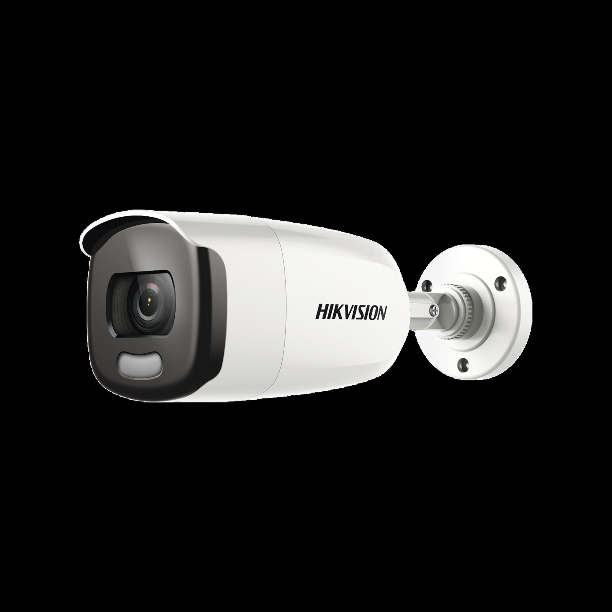 Bullet TURBO 1080p / Gran Cobertura / Lente 3.6 mm / IMAGEN A COLOR SIEMPRE / Luz Blanca 40 mts / Exterior IP67