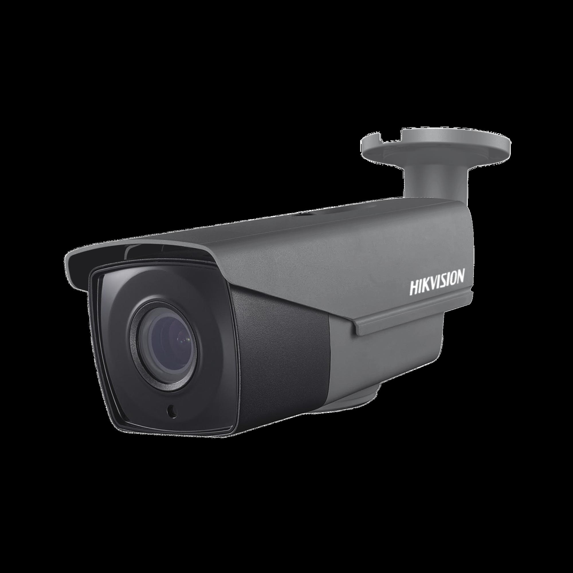 Bullet TURBO 1080p / Lente Mot. 2.8 a 12 mm / CLIMAS EXTREMOS / IR EXIR Inteligente 40 mts / Exterior IP66 / WDR Real 120 dB / Híbrida