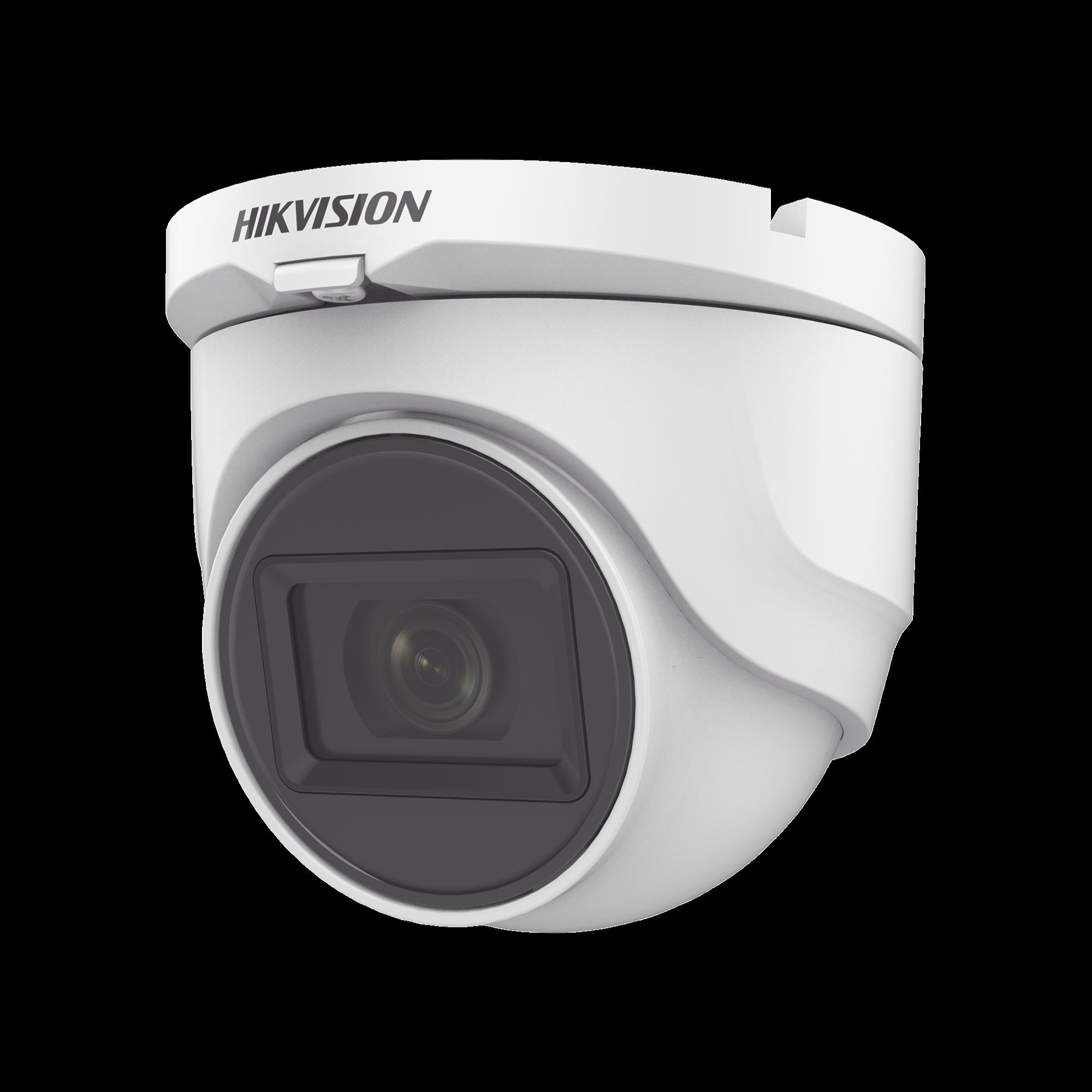 Domo TURBOHD 1080p / Gran Angular 106? / Lente 2.8 mm / 30 mts IR EXIR / Exterior IP67 / 4 Tecnologías / dWDR