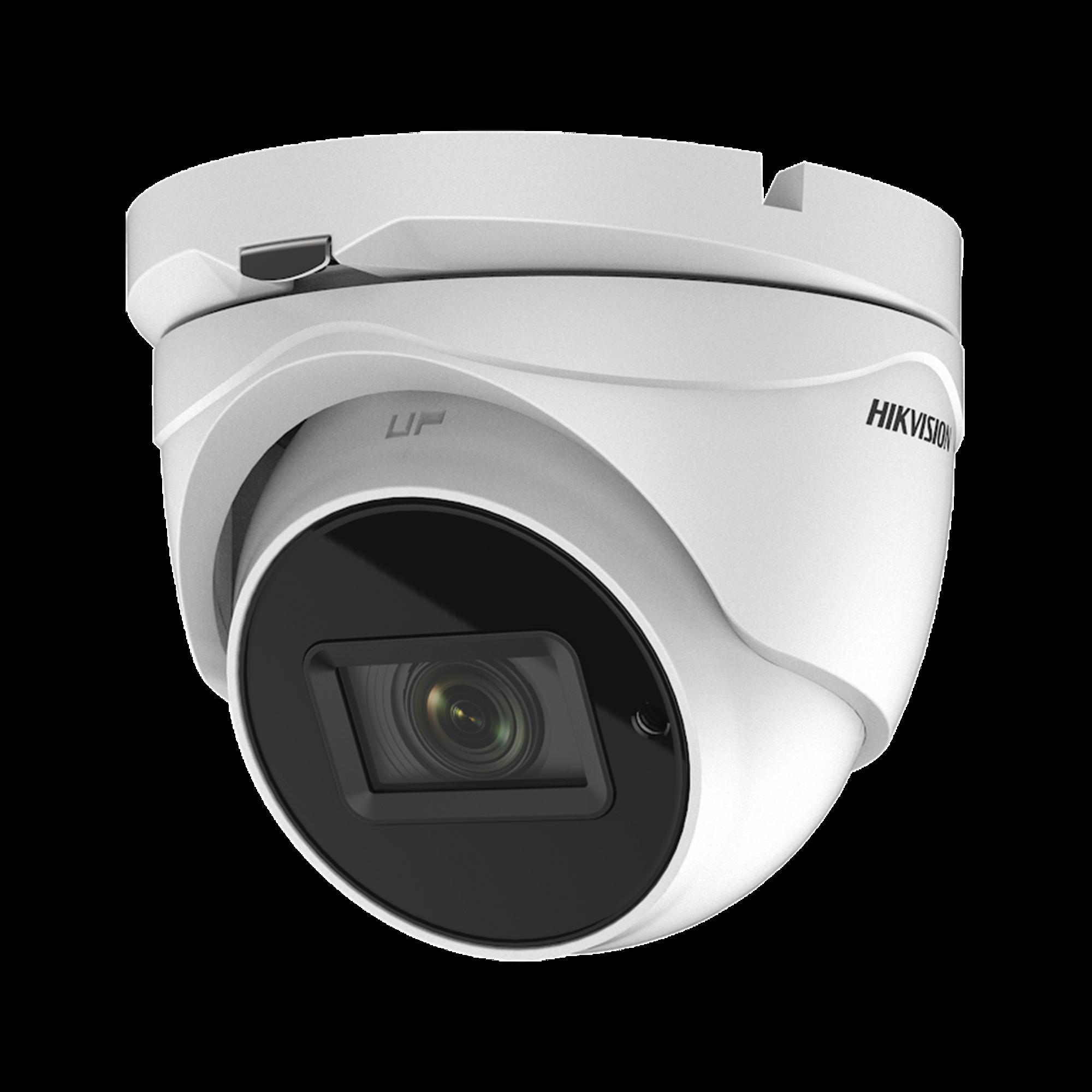 Eyeball TURBOHD 4K (8 Megapixel) / Lente Mot. 2.7 a 13.5 mm / IR EXIR 60 mts / Exterior IP67 / dWDR / TVI-AHD-CVI-CVBS / 9 a 15 VCD