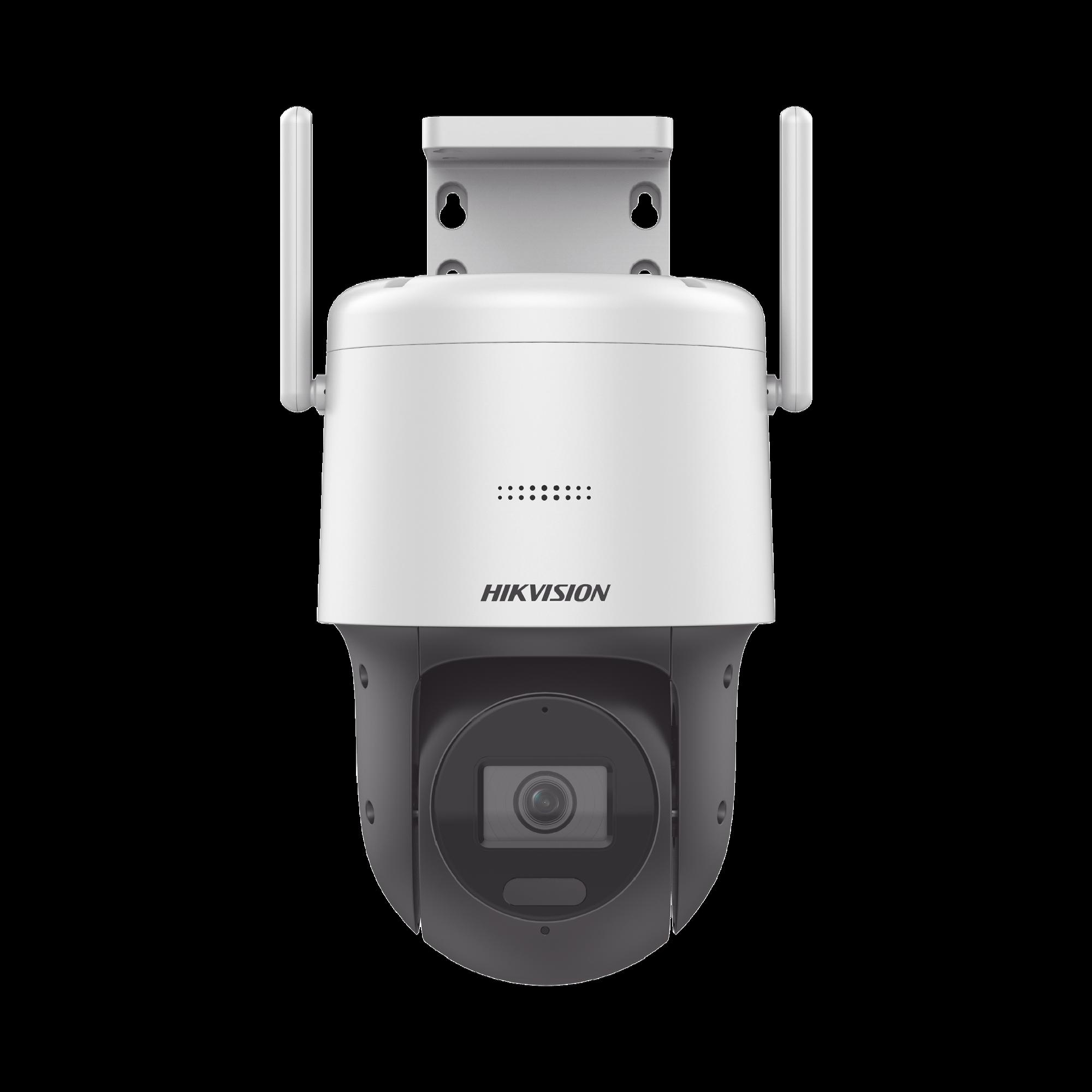 Domo IP PT 4 Megapixel / Lente 2.8 mm / 30 mts IR EXIR / Exterior IP66 / dWDR / Ultra Baja Iluminación / Micrófono y Bocina Integrada / Audio de Dos Vías/ WiFi / dWDR