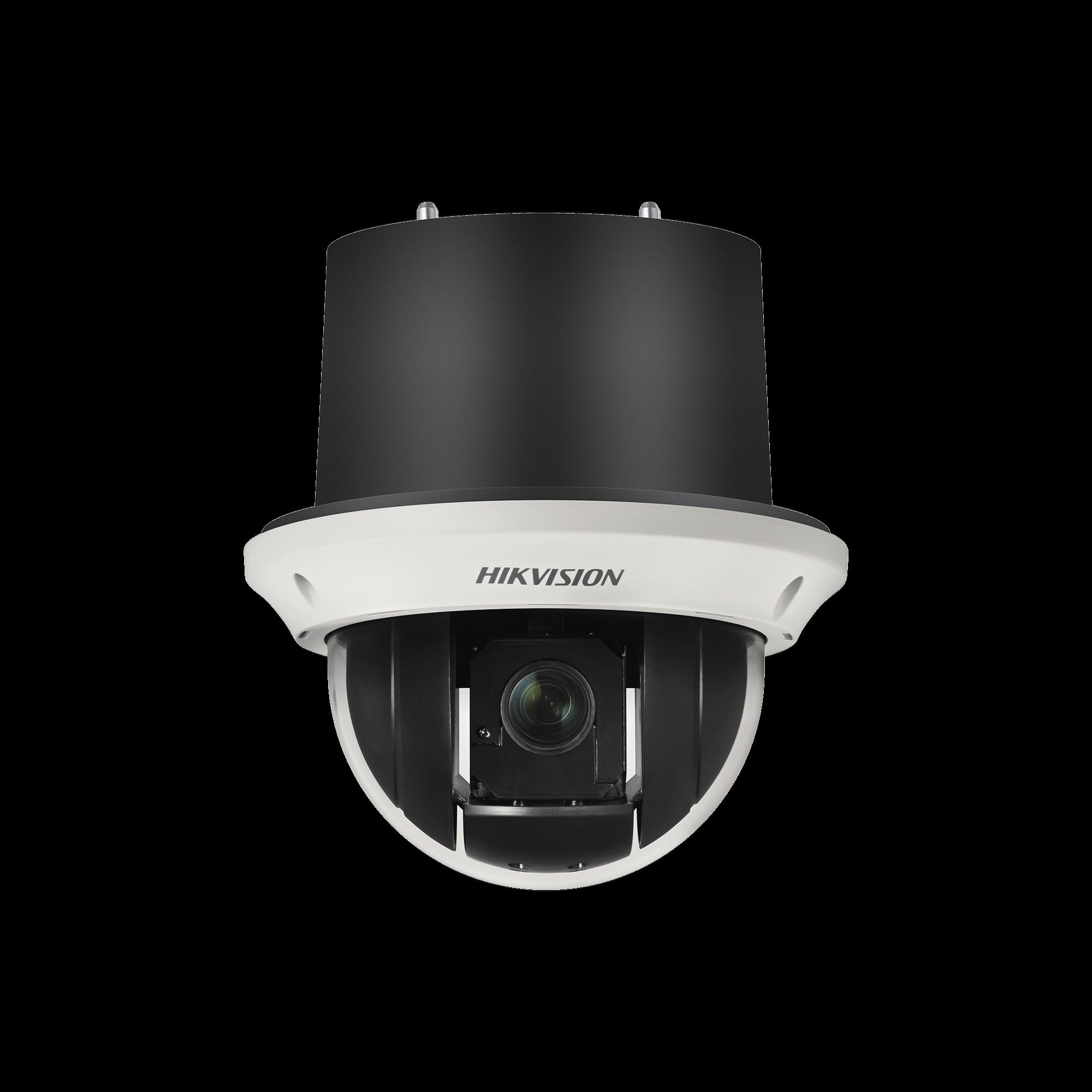 Domo IP PTZ 2 Megapixel / 25X Zoom / Uso en Plafon / Interior / IK10 / WDR / 3D-DNR / BLC / PoE+ / Entrada-Salida audio y alarma
