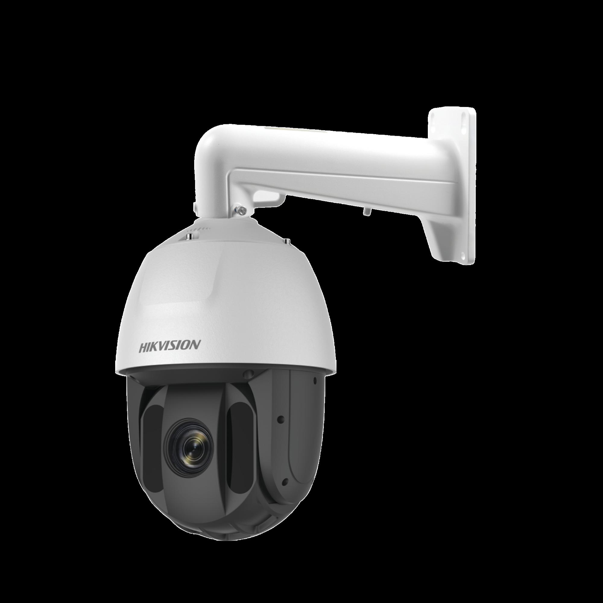 PTZ IP 4 Megapixel / 32X Zoom / 150 mts IR EXIR / Ultra Baja Iluminación / IP66 / WDR 120 dB / Hi-PoE / Entrada y Salida de Audio y Alarma