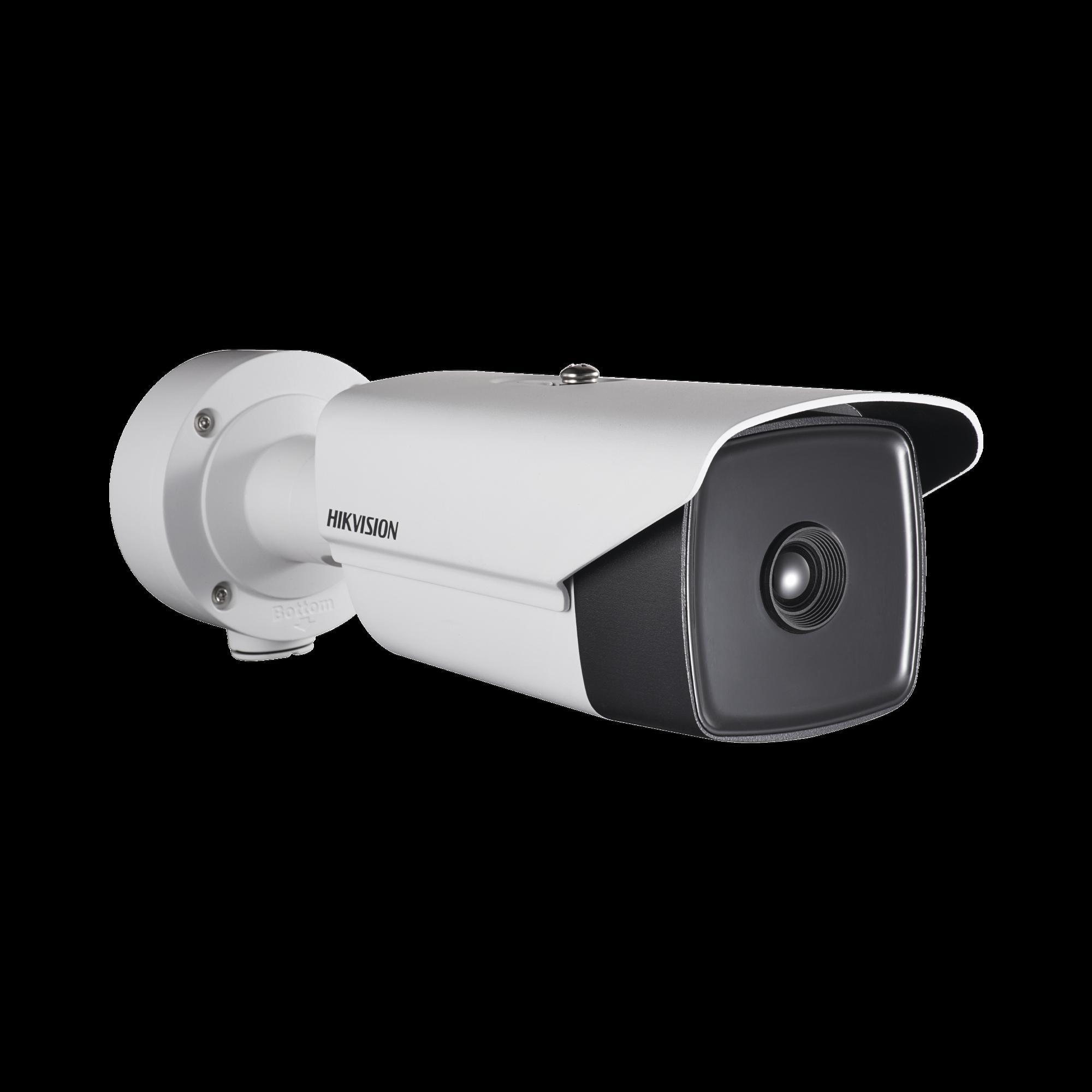 Bala IP Termica 384 X 288 / Lente 25 mm / Termometrica / Deteccion de Temperatura / PoE+ / IP66