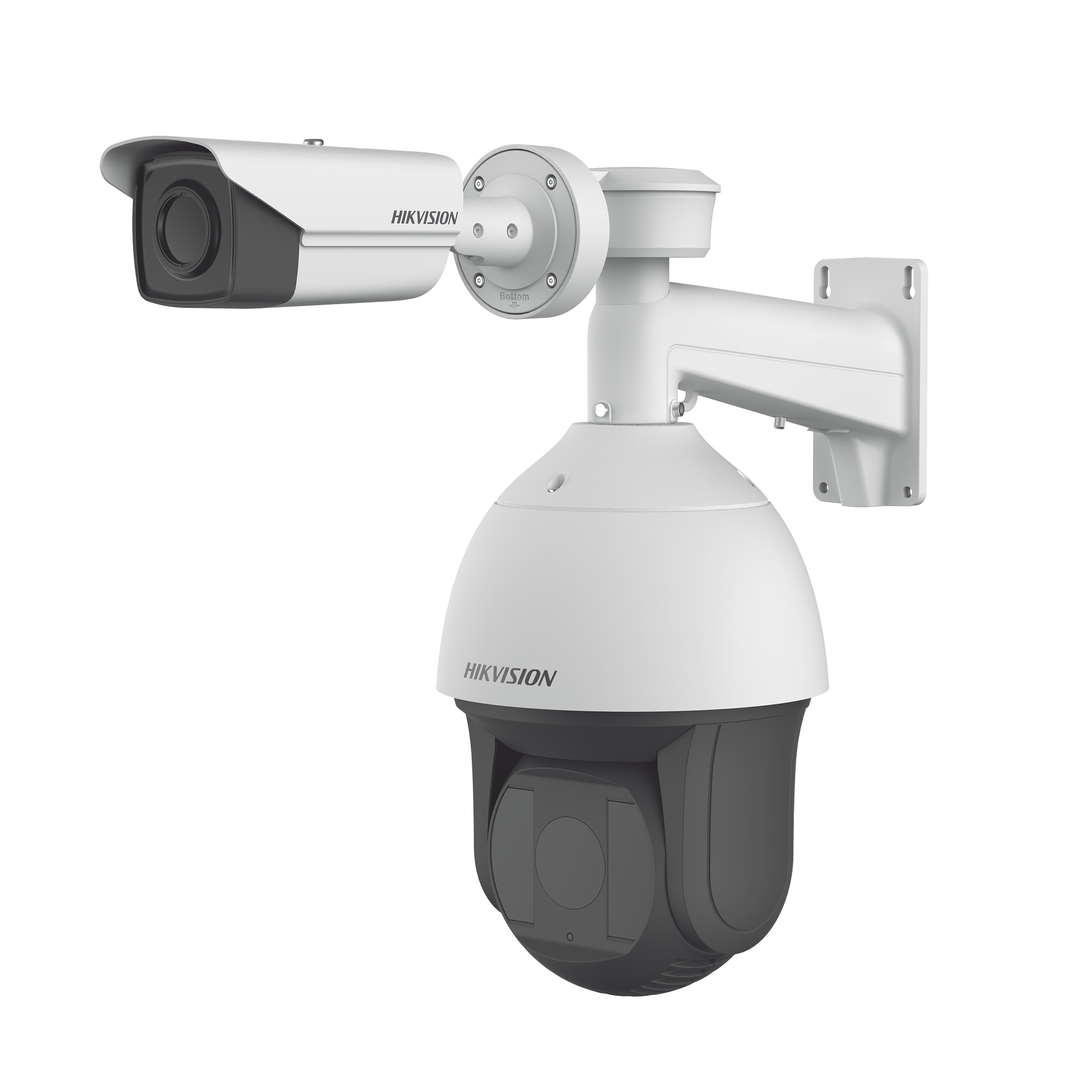 Domo IP PTZ 2 Megapixel + Bala Termica 384 x 288 / Lente Termico 35 mm / Lente optico 36X Zoom / 200 mts IR EXIR