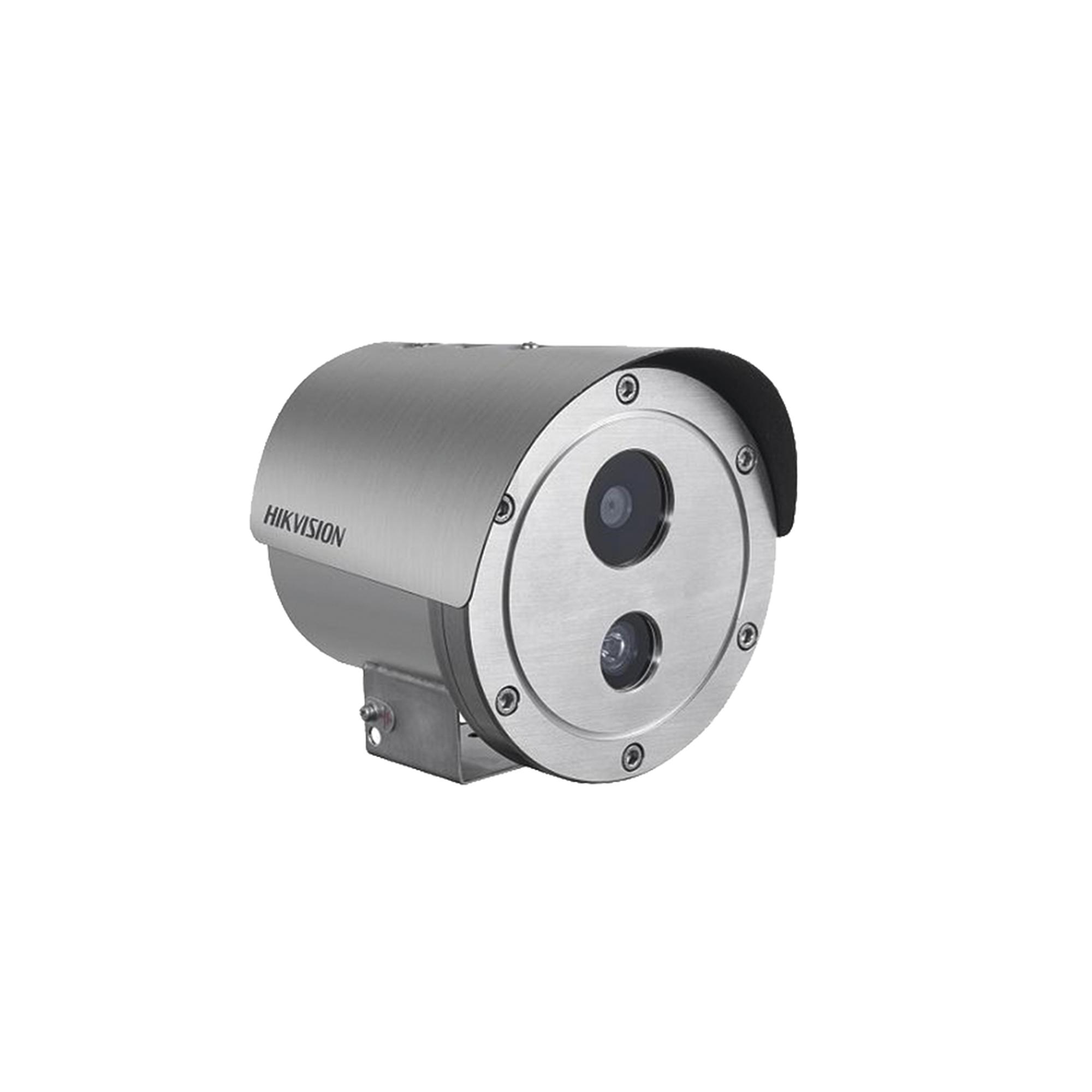 Bala IP 4 Megapixel / Antiexplosion / H.265+ / 30 mts IR / WDR 120 dB / PoE / IP68 / Entrada-Salida audio y alarma / MicroSD