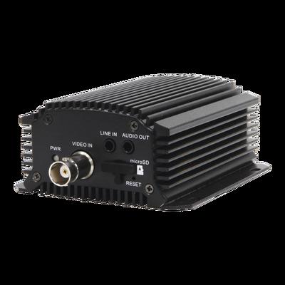 Codificador de Vídeo (Encoder) TURBOHD 5 Megapixel / H.265+ / RS-485 / TVI-AHD-CVI-CVBS / Soporta PTZ Coaxitron