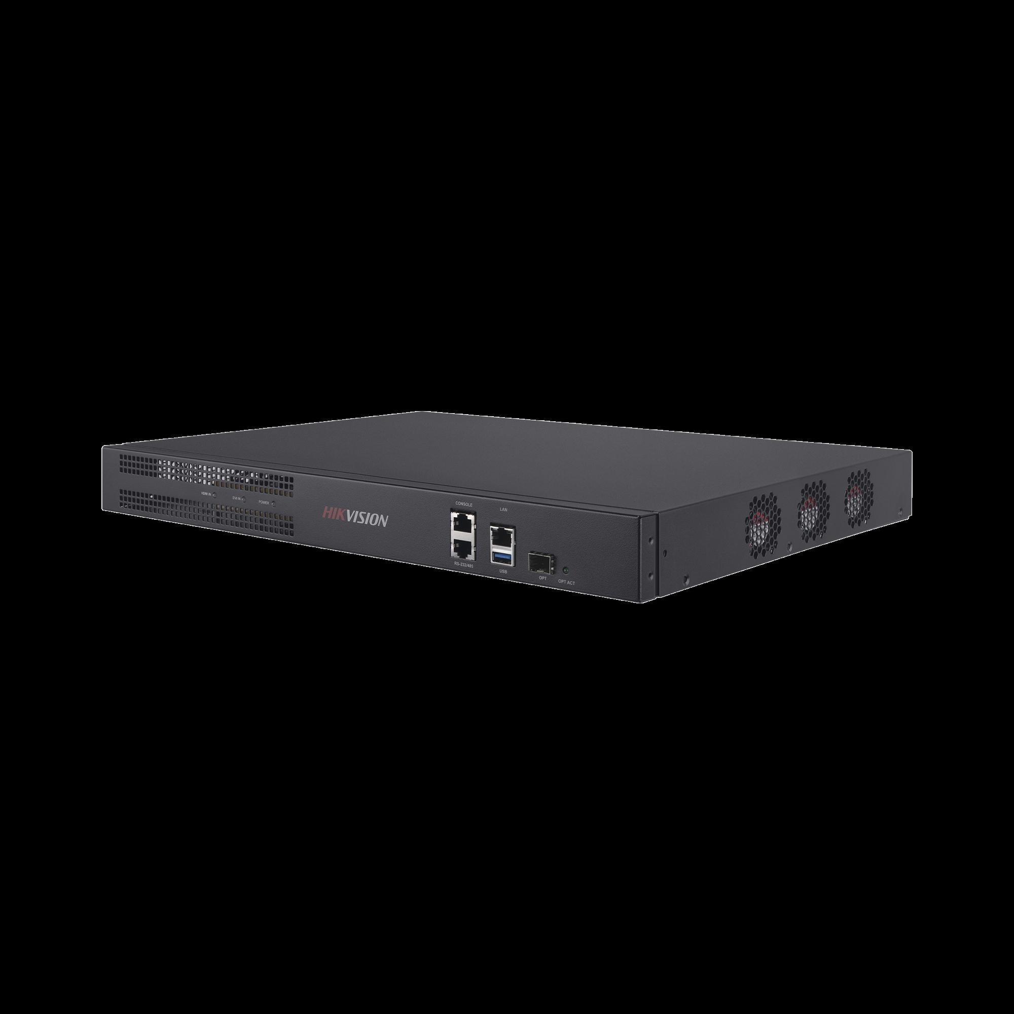 Decodificador de Vídeo de 4 canales con salida 4K / 4 Salidas HDMI / Soporta hasta 36 canales de Vídeo Simultáneos / Videowall