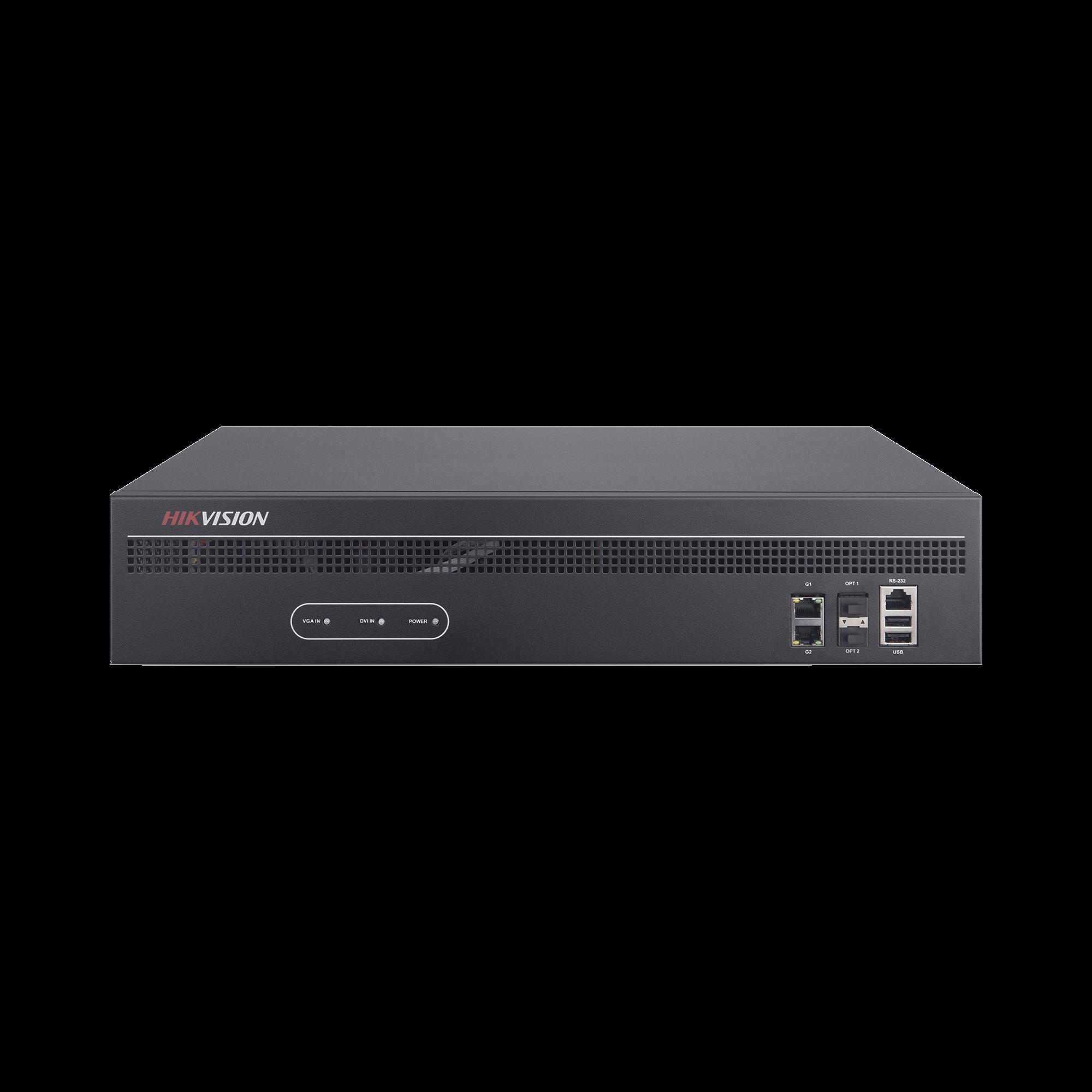 Decodificador de Vídeo de 16 Salidas HDMI 4K / Soporta hasta 128 canales de Vídeo Simultáneos / Videowall