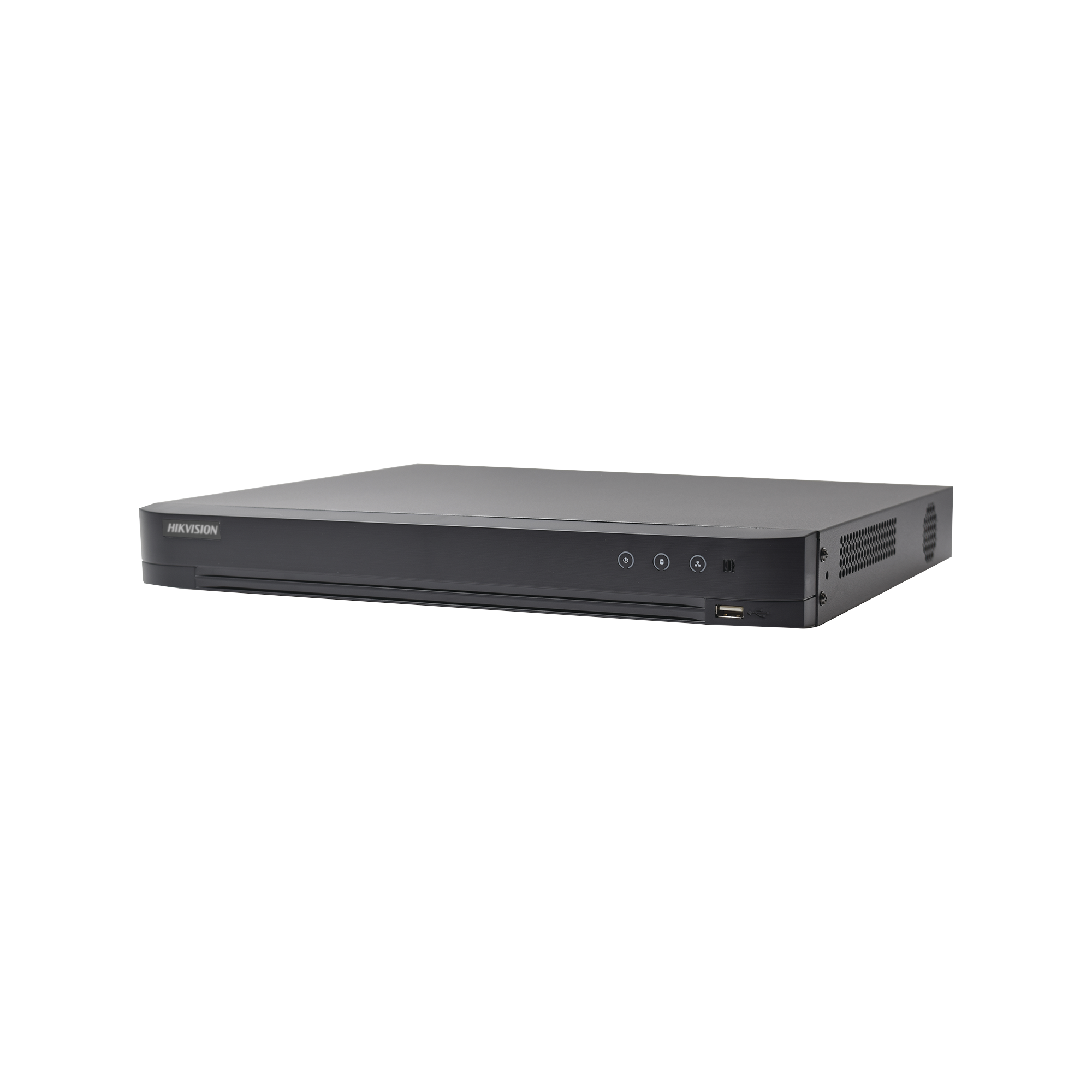 DVR 4 Megapixel / 32 Canales TURBOHD + 8 Canales IP / 2 Bahias de Disco Duro / 1 Canal de Audio / Videoanalisis