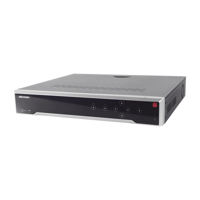 NVR 12 Megapixel (4K) / 32 Canales IP / 24 Puertos PoE+ / Switch PoE 300 mts / HDMI en 4K / Soporta POS