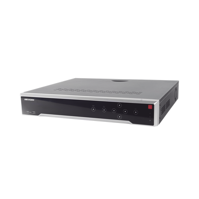NVR 12 Megapixel (4K) / 32 Canales IP / 16 Puertos PoE+ / Switch PoE 300 mts / HDMI en 4K / Soporta POS