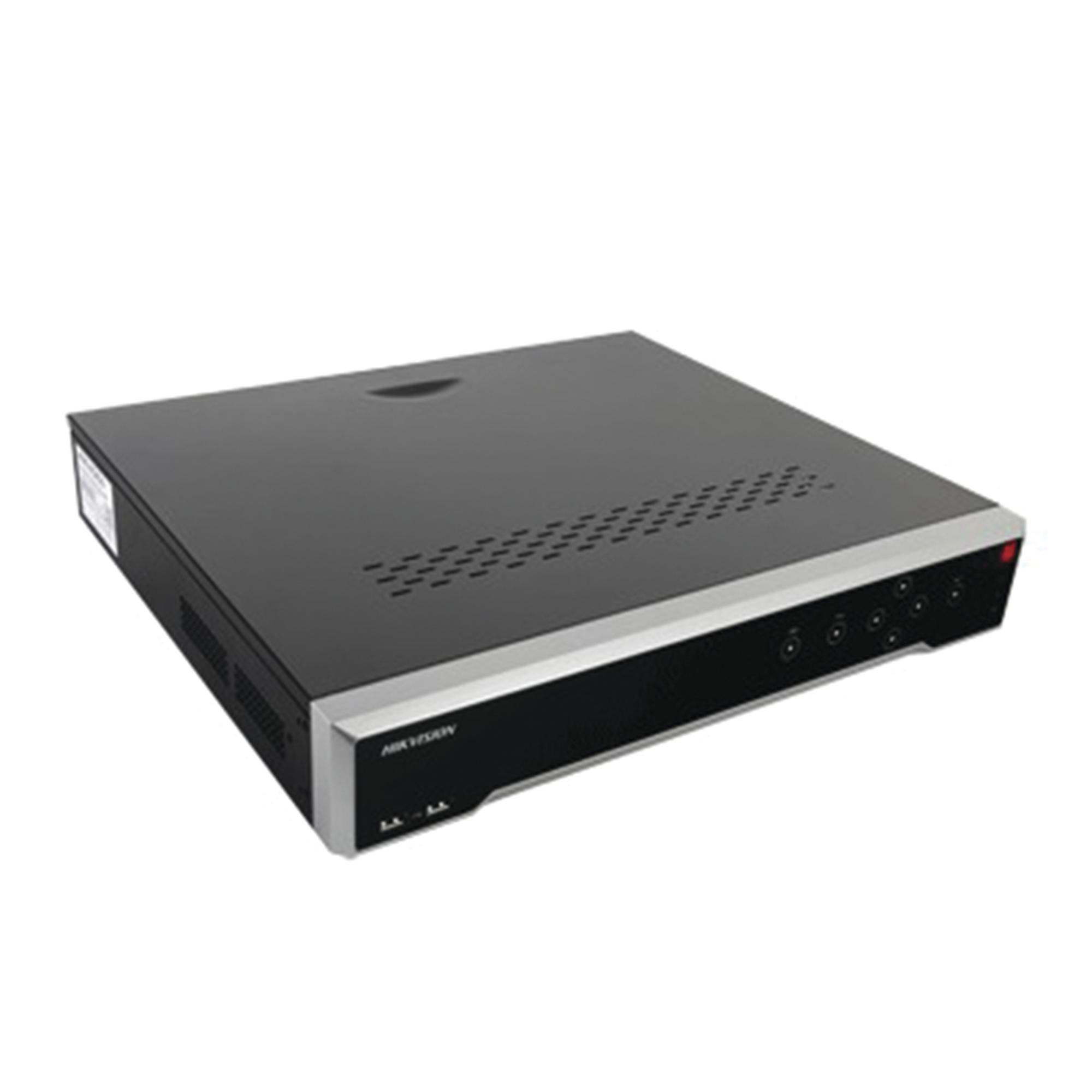 NVR 8 Megapixel (4K) / 32 canales IP / 16 Puertos PoE+ / 4 Bahías de Disco Duro / Switch PoE 300 mts / HDMI en 4K