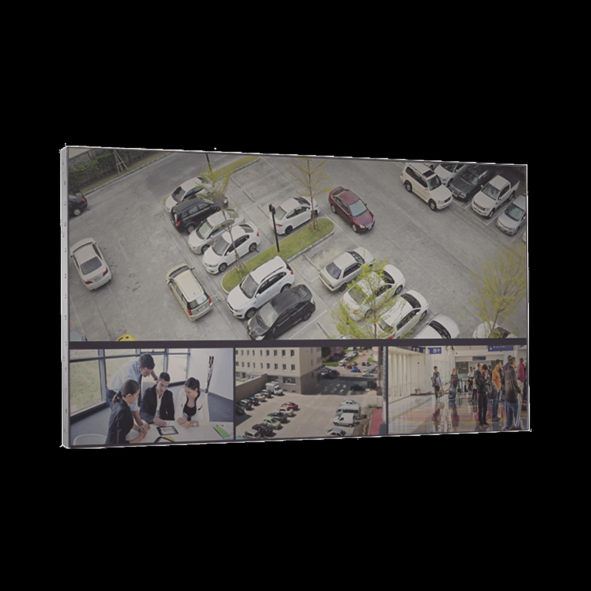 Pantalla LCD 55 para TV WALL / Entrada HDMI - VGA - DVI - BNC / Monitor Robusto