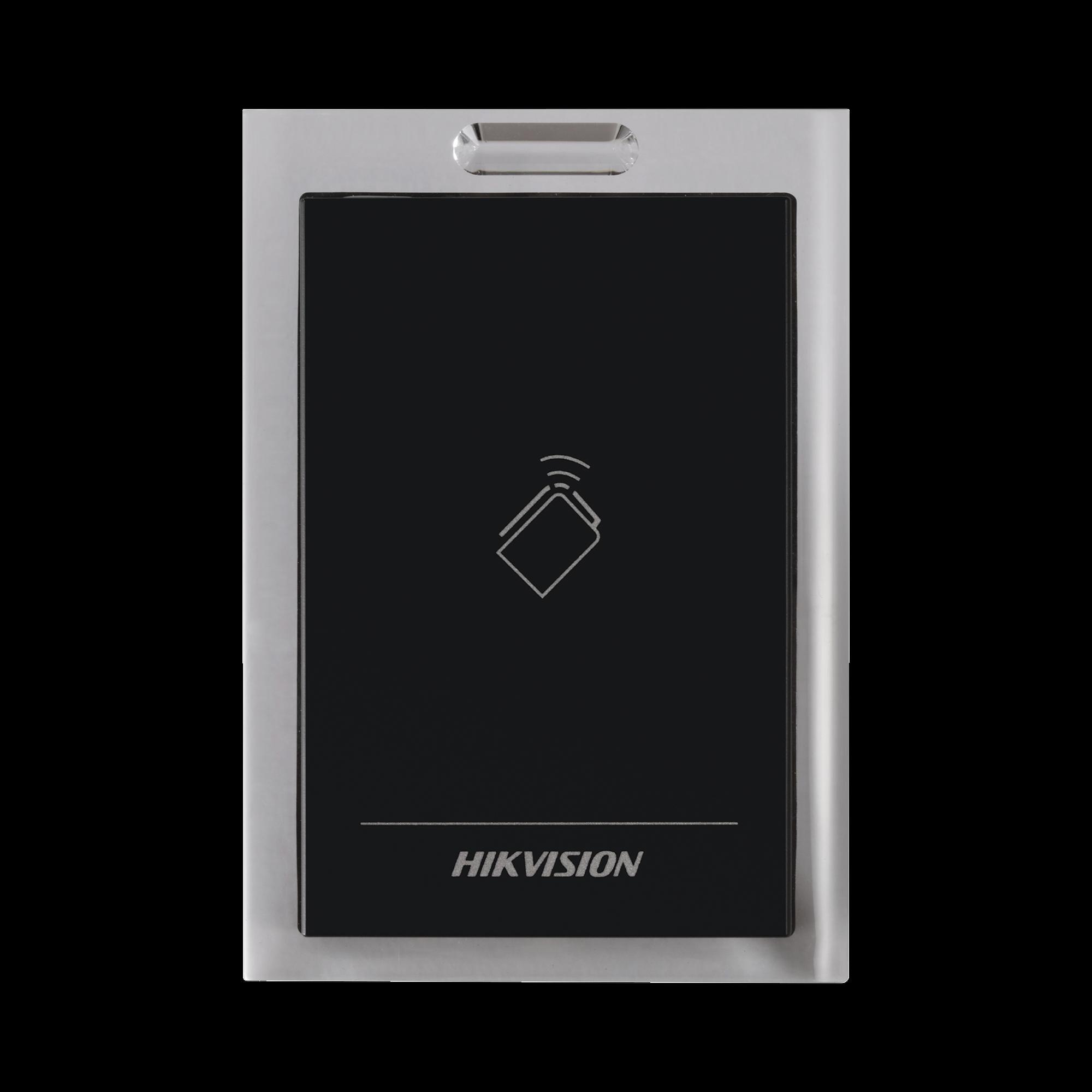 Lector de Tarjetas MIFARE / Conexión Wiegand y RS-485 / Estético y Fácil de Utilizar / Indicador LED