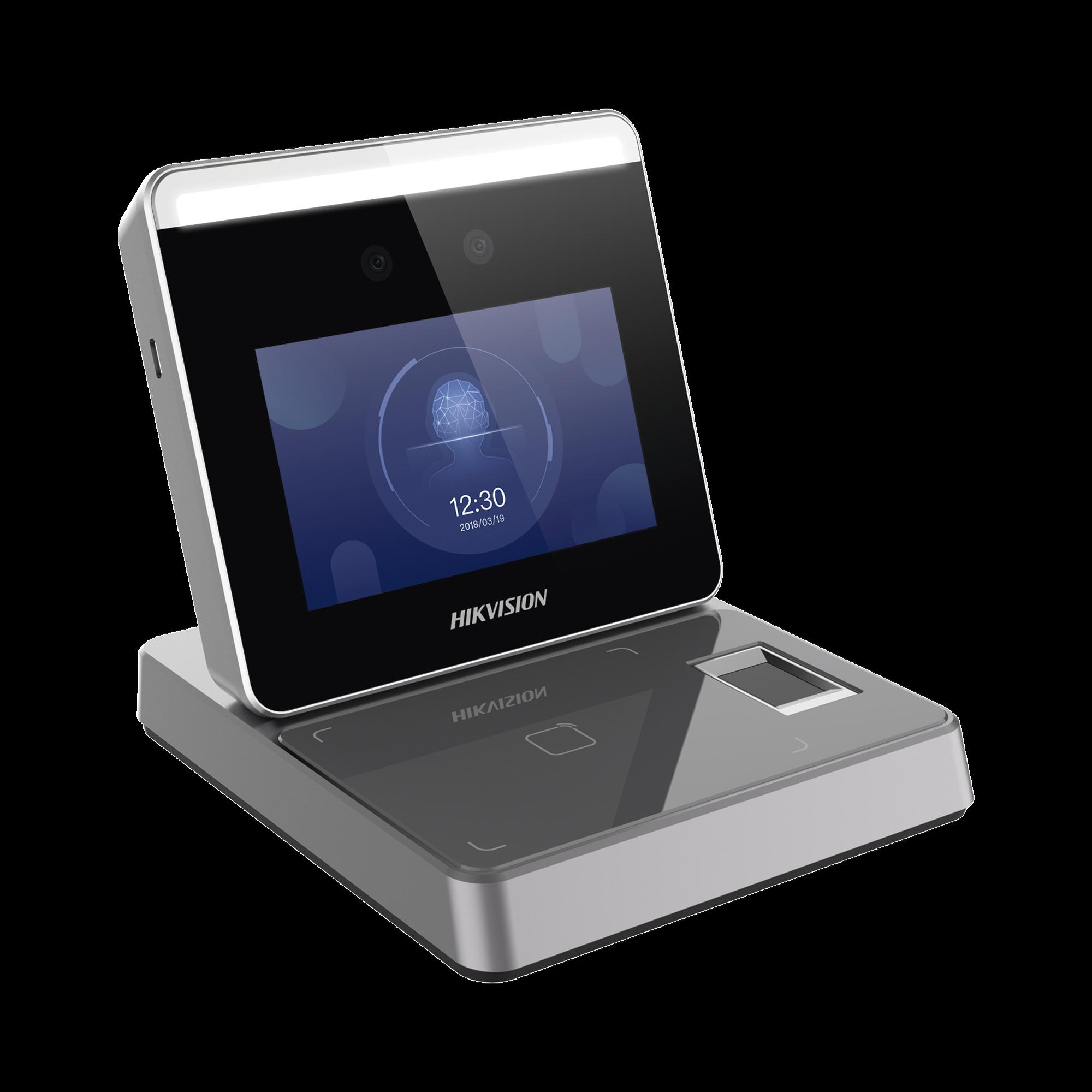 Enrolador IP de Rostros, Huellas y Tarjetas (MIFARE y EM) para iVMS-4200 / Facilita el Alta de Rostros, Huellas y Tarjeta al Software / WiFi