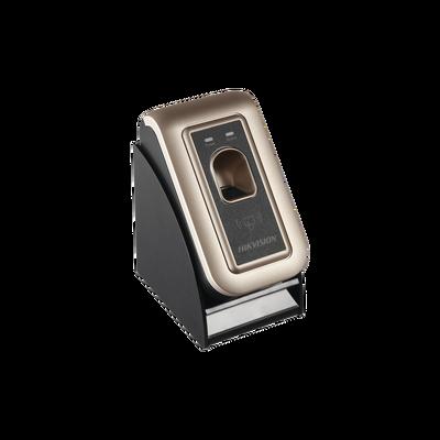 Enrolador de Huellas USB para IVMS4200 / Plug & play / Compatible con biometricos y paneles de acceso de HIKVISION / Facilita enrolamiento de huellas