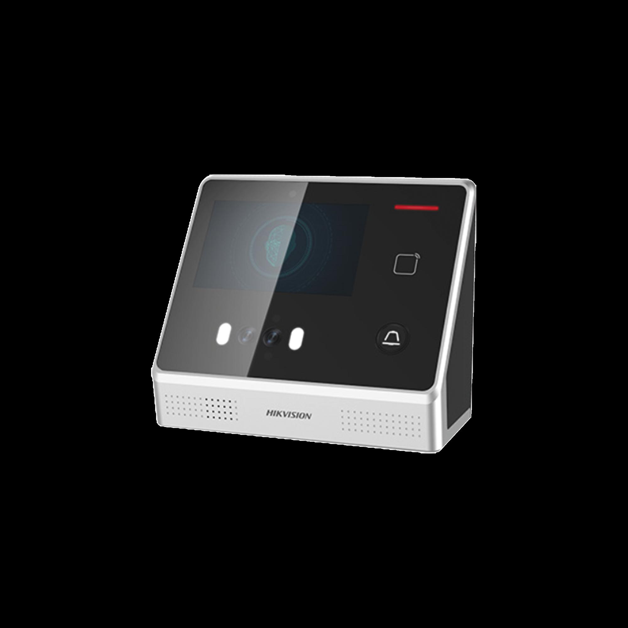 Biométrico de Reconocimiento Facial / 2000 Rostros / 5000 tarjetas EM / 5000 Huellas / Pantalla Touch Screen / Módulo Óptico de Huella