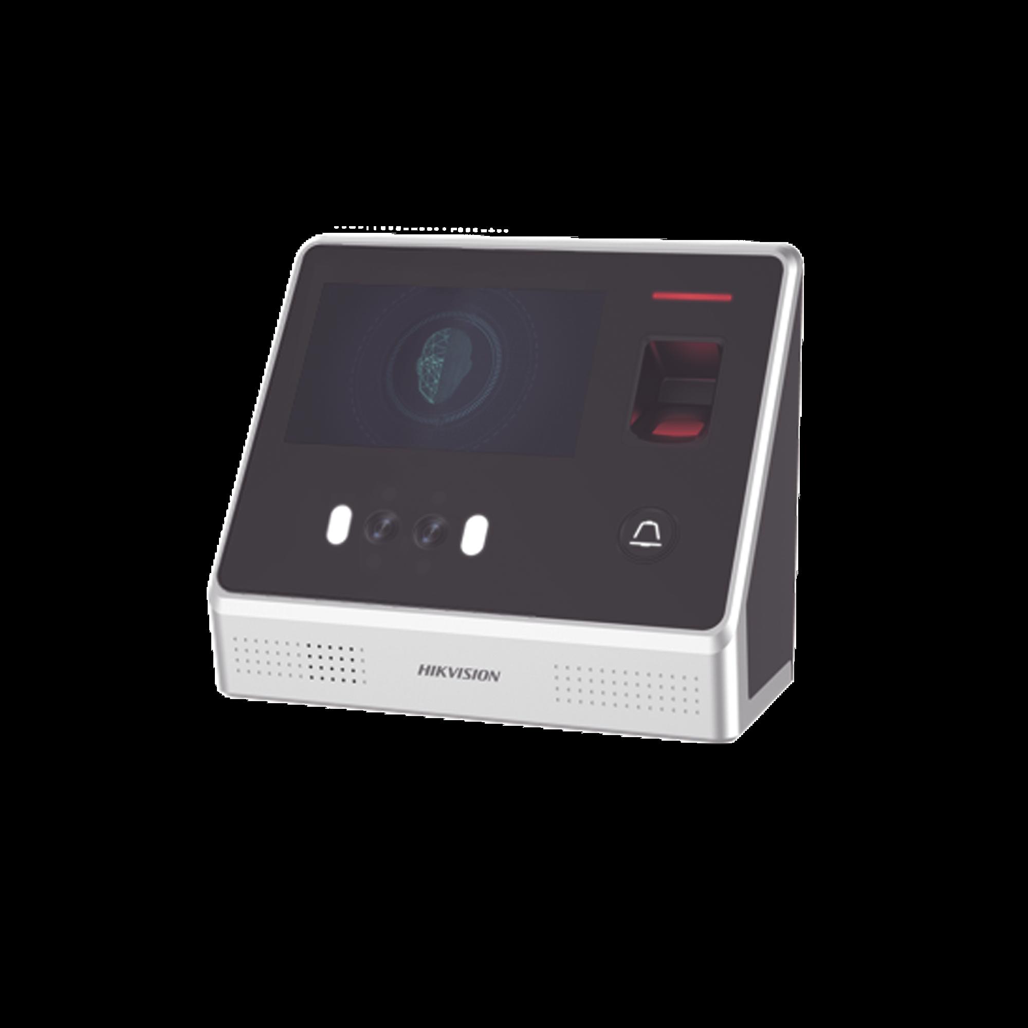 Biométrico de Reconocimiento Facial / 2000 Rostros / 5000 tarjetas MIFARE / 5000 Huellas / Pantalla Touch Screen / Módulo Óptico de Huella