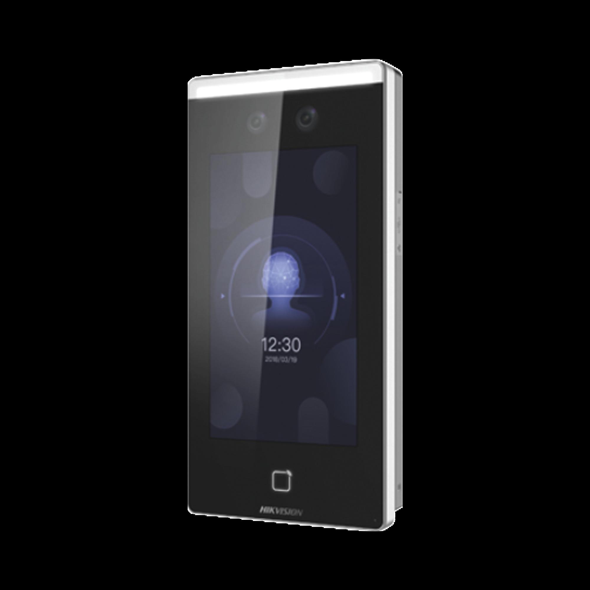 Biometrico Touch Reconocimiento Facial ULTRA Rapido con funcion de Videoportero  / Lectura de Codigos QR / Alta tecnologia Deep Learning  / Camara 2 MP compatible con NVRs y DVRs HIKVISION y EPCOM / Acceso + Repor