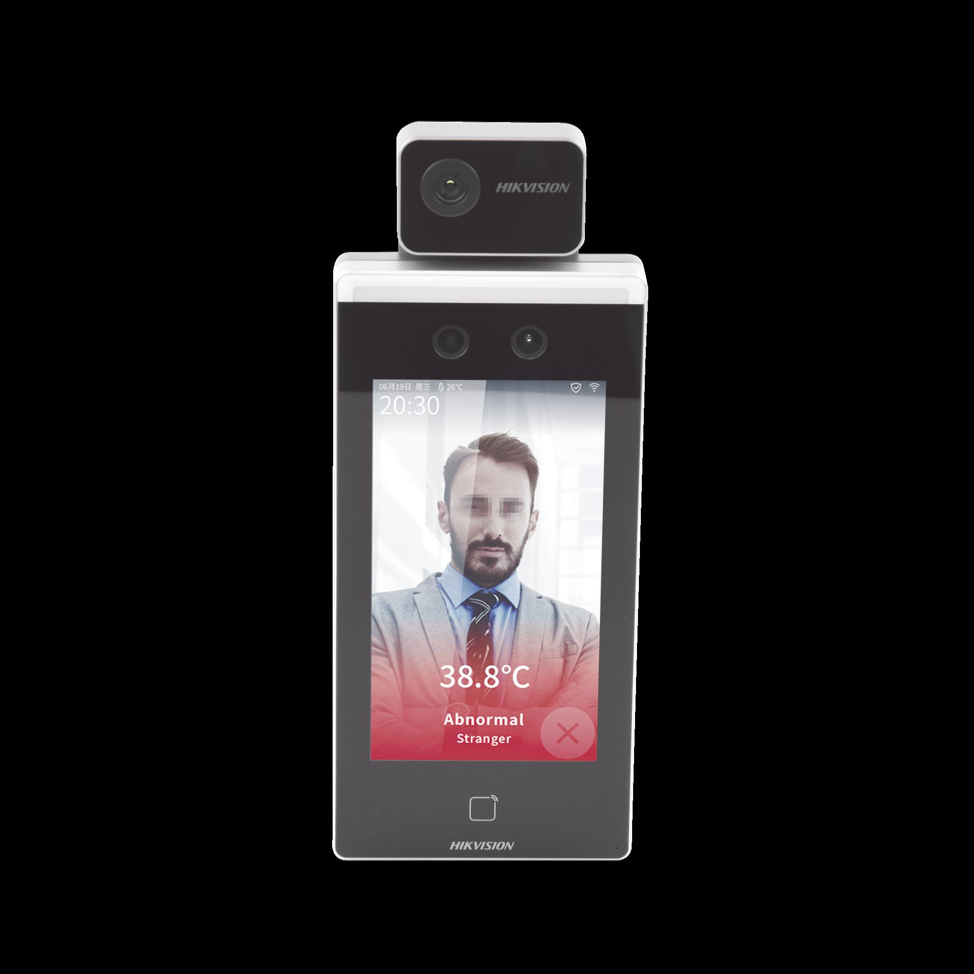 Biométrico para Acceso y Asistencia con Reconocimiento Facial  / Monitoreo y reportes en Excel por Software / Termografía Industrial / Acceso + Tiempo y Asistencia (reloj checador)